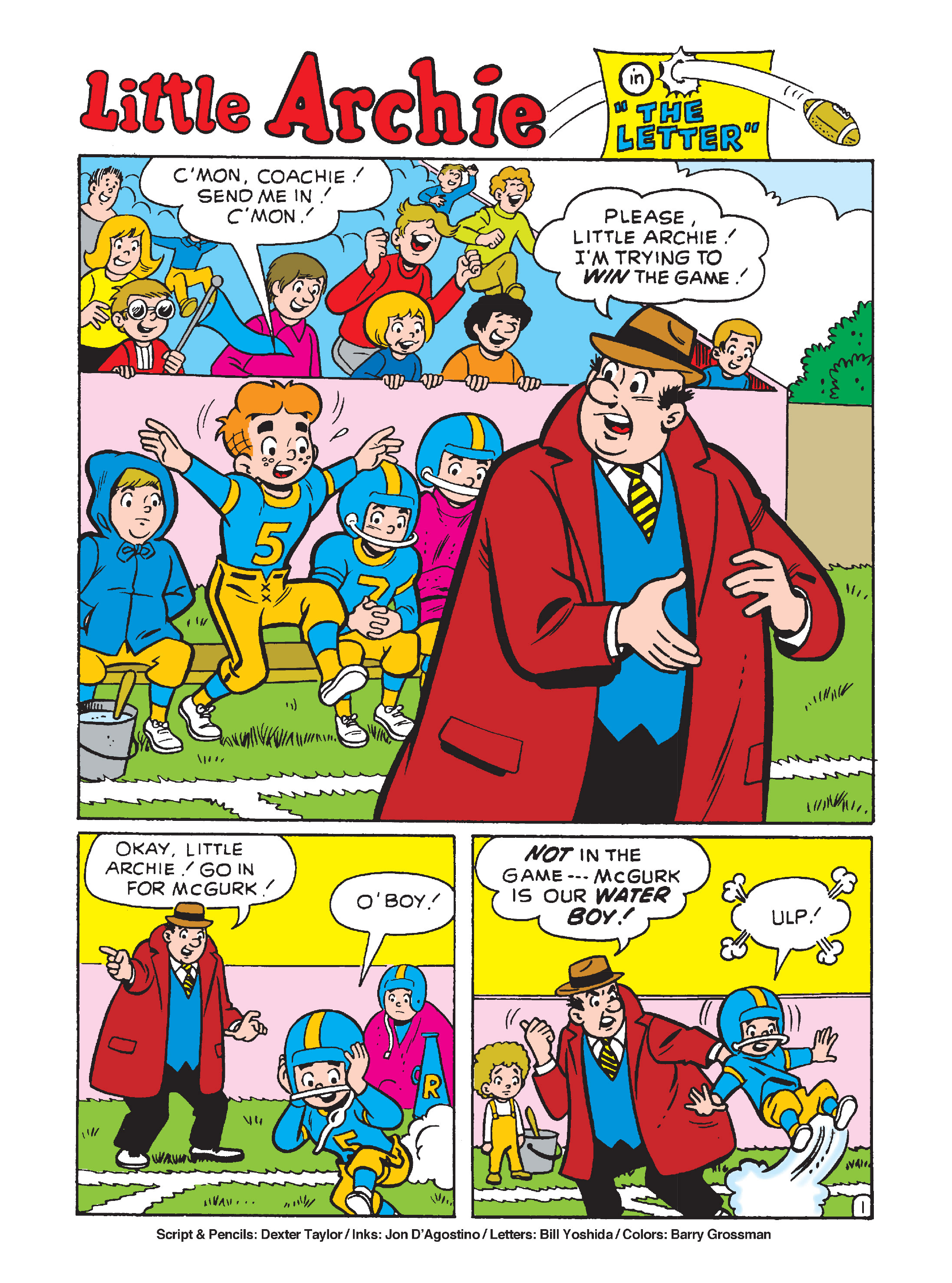 Read online Archie's Funhouse Double Digest comic -  Issue #10 - 128
