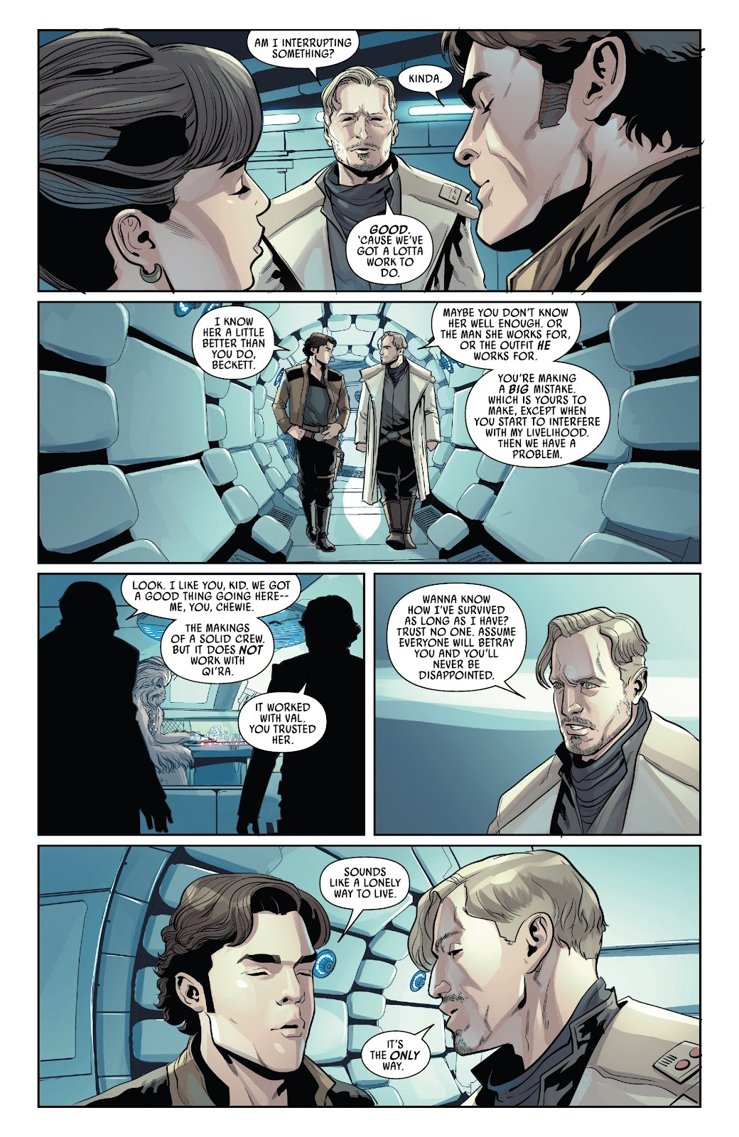 Read online Solo: A Star Wars Story Adaptation comic -  Issue #4 - 7