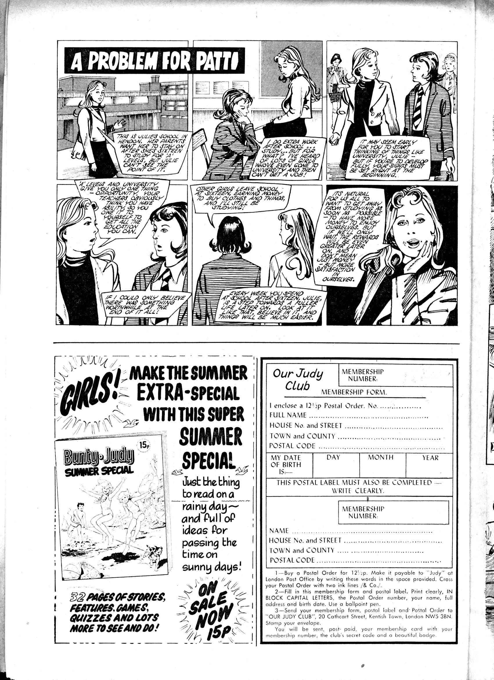 Read online Judy comic -  Issue #807 - 12