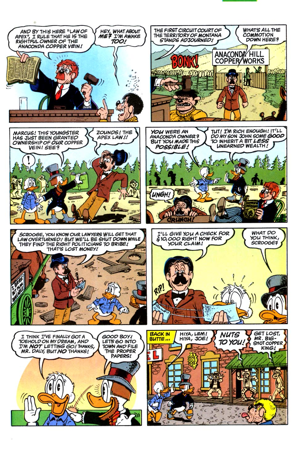 Read online Uncle Scrooge (1953) comic -  Issue #288 - 15