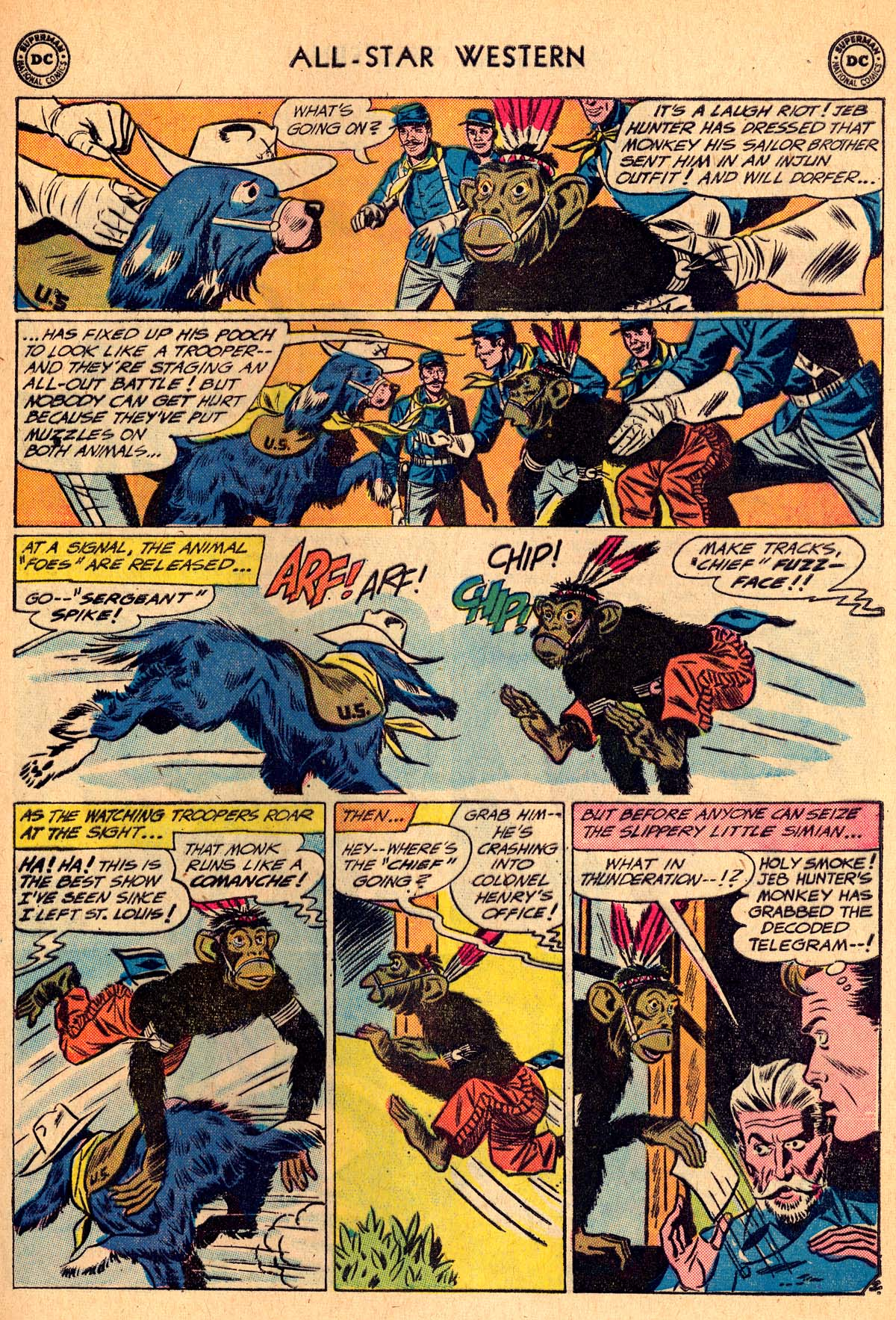 Read online All-Star Western (1951) comic -  Issue #115 - 17