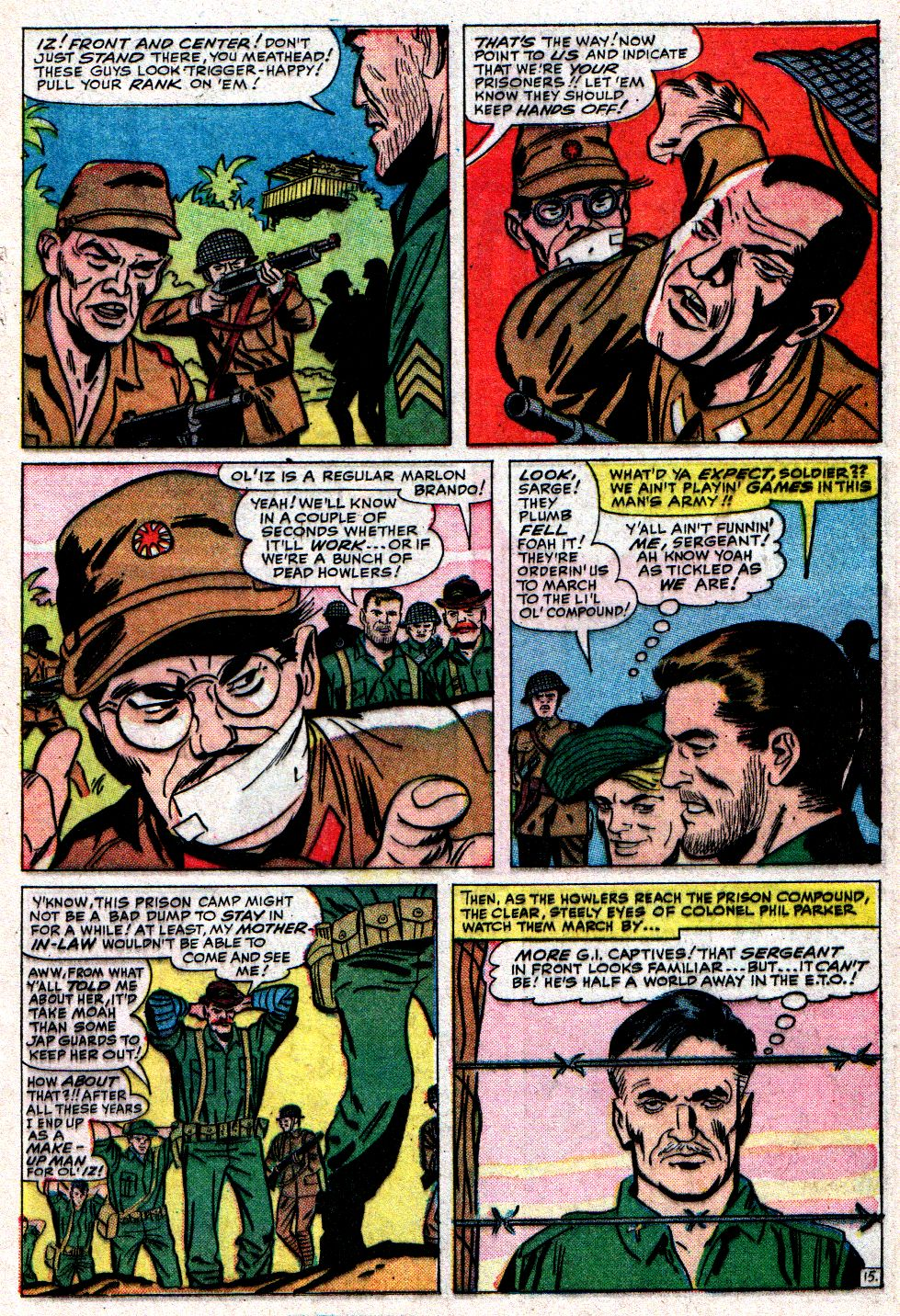 Read online Sgt. Fury comic -  Issue #10 - 21