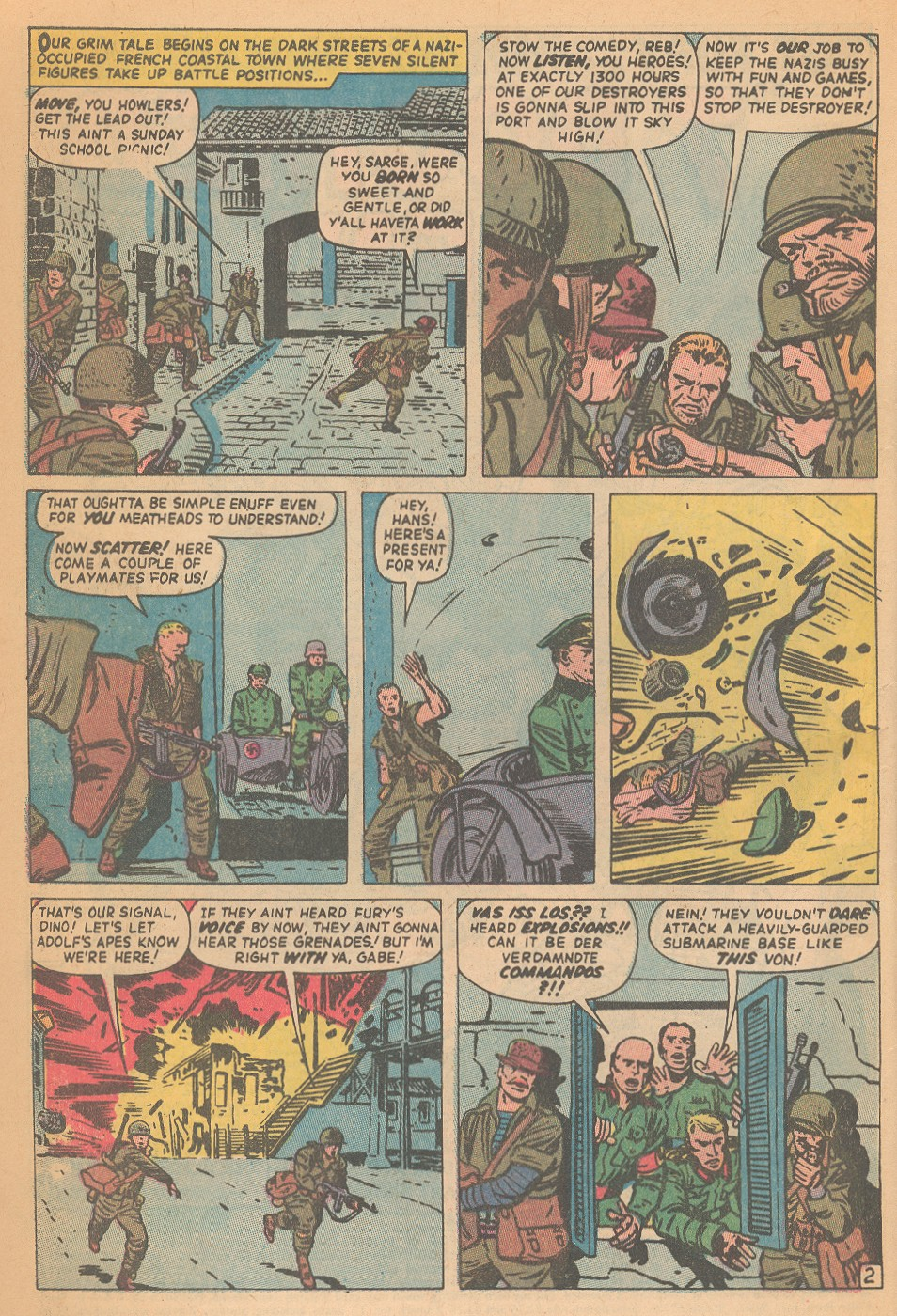 Read online Sgt. Fury comic -  Issue #95 - 4