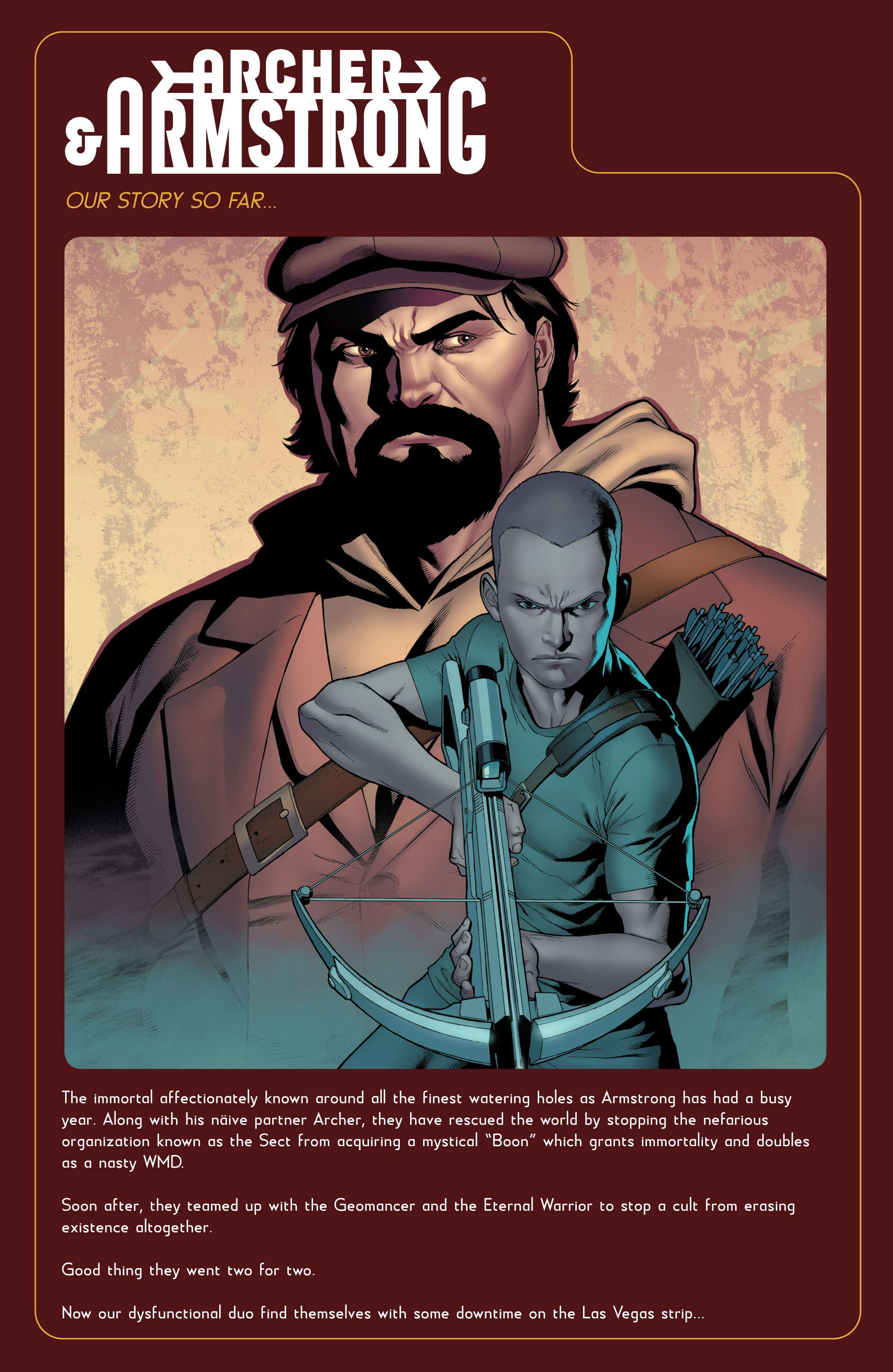 Read online Archer and Armstrong comic -  Issue #Archer and Armstrong _TPB 7 - 77