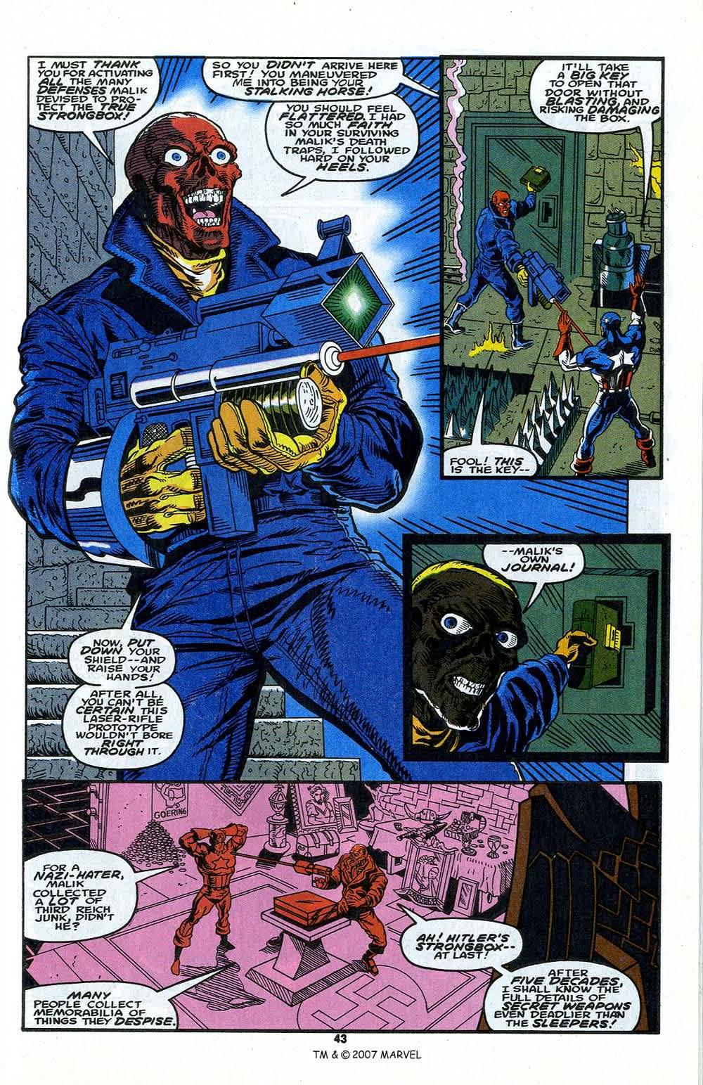 Read online Captain America (1968) comic -  Issue # _Annual 13 - 45