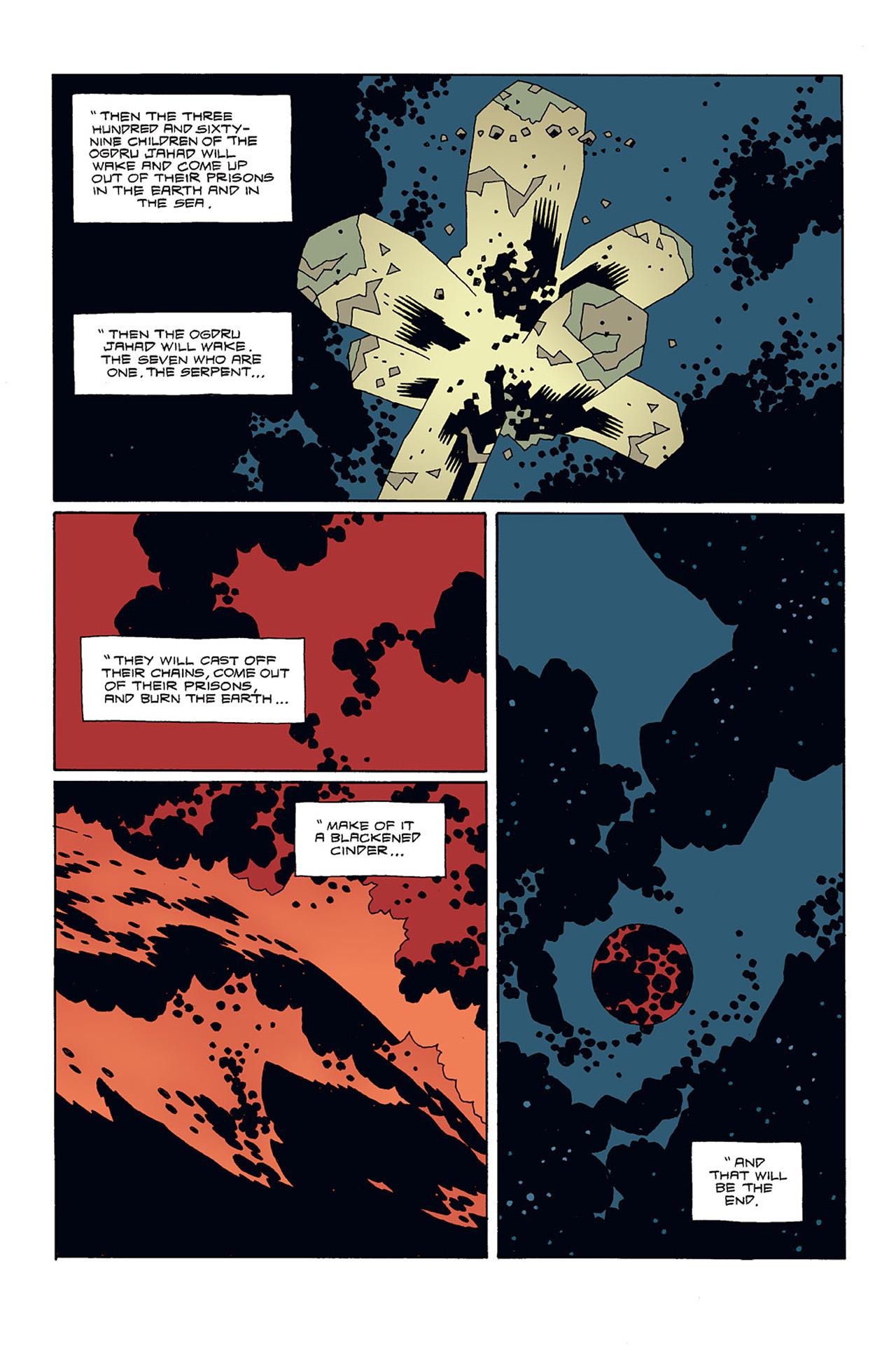 Read online Hellboy: Conqueror Worm comic -  Issue #3 - 29