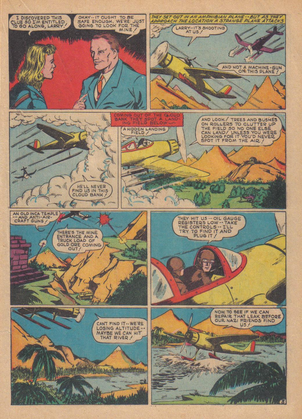 Exciting Comics (1940) issue 13 - Page 33