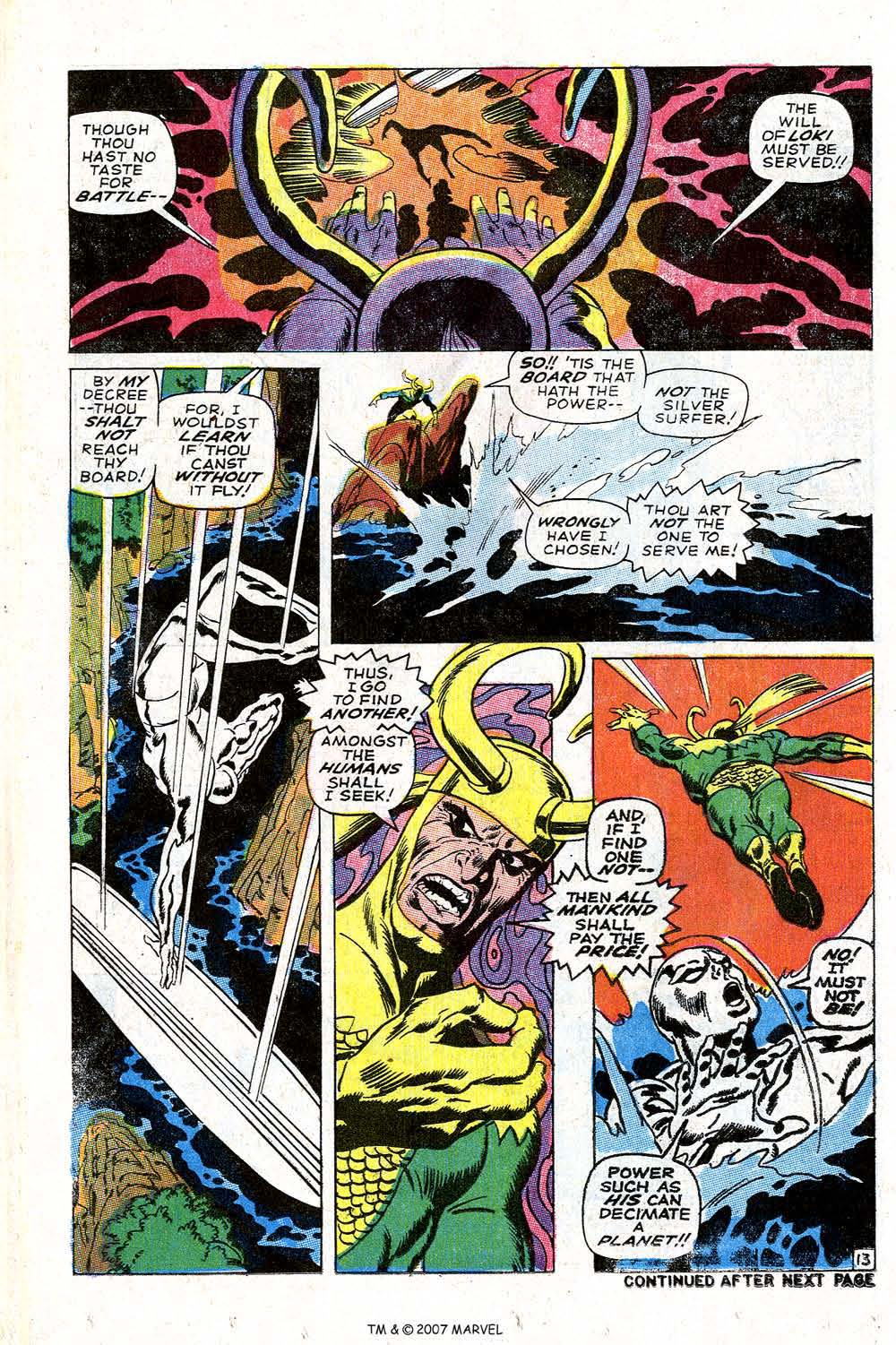Read online Silver Surfer (1968) comic -  Issue #4 - 16