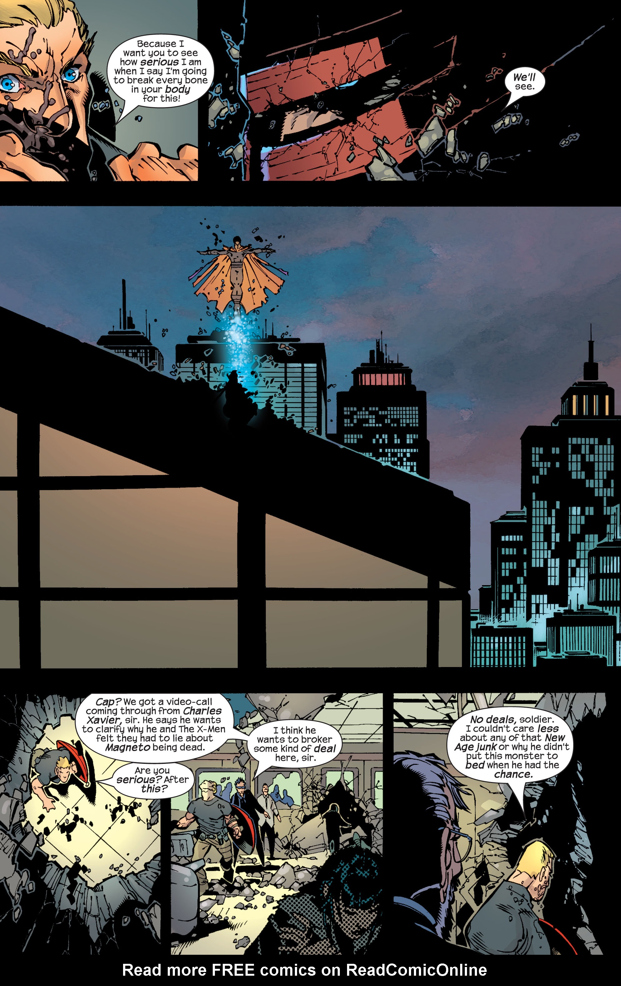 Read online Ultimate War comic -  Issue #2 - 24