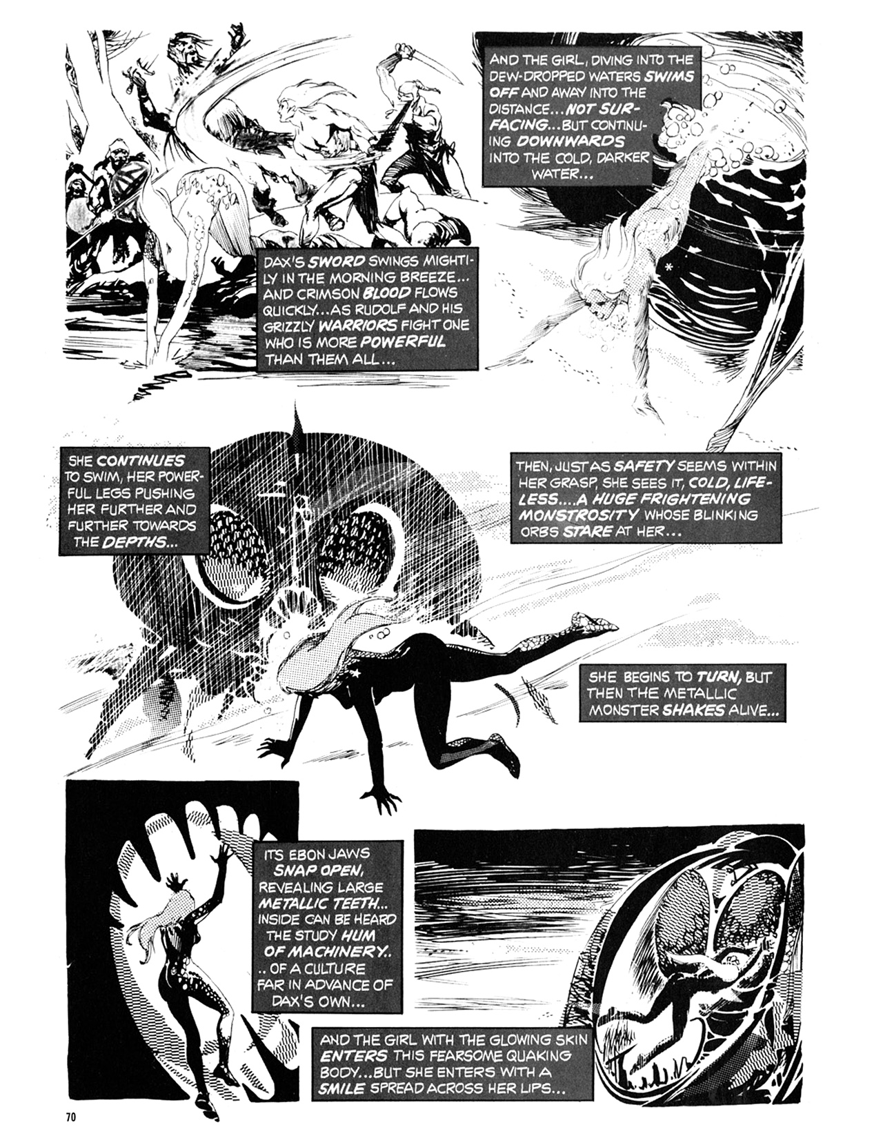 Read online Eerie Archives comic -  Issue # TPB 10 - 71