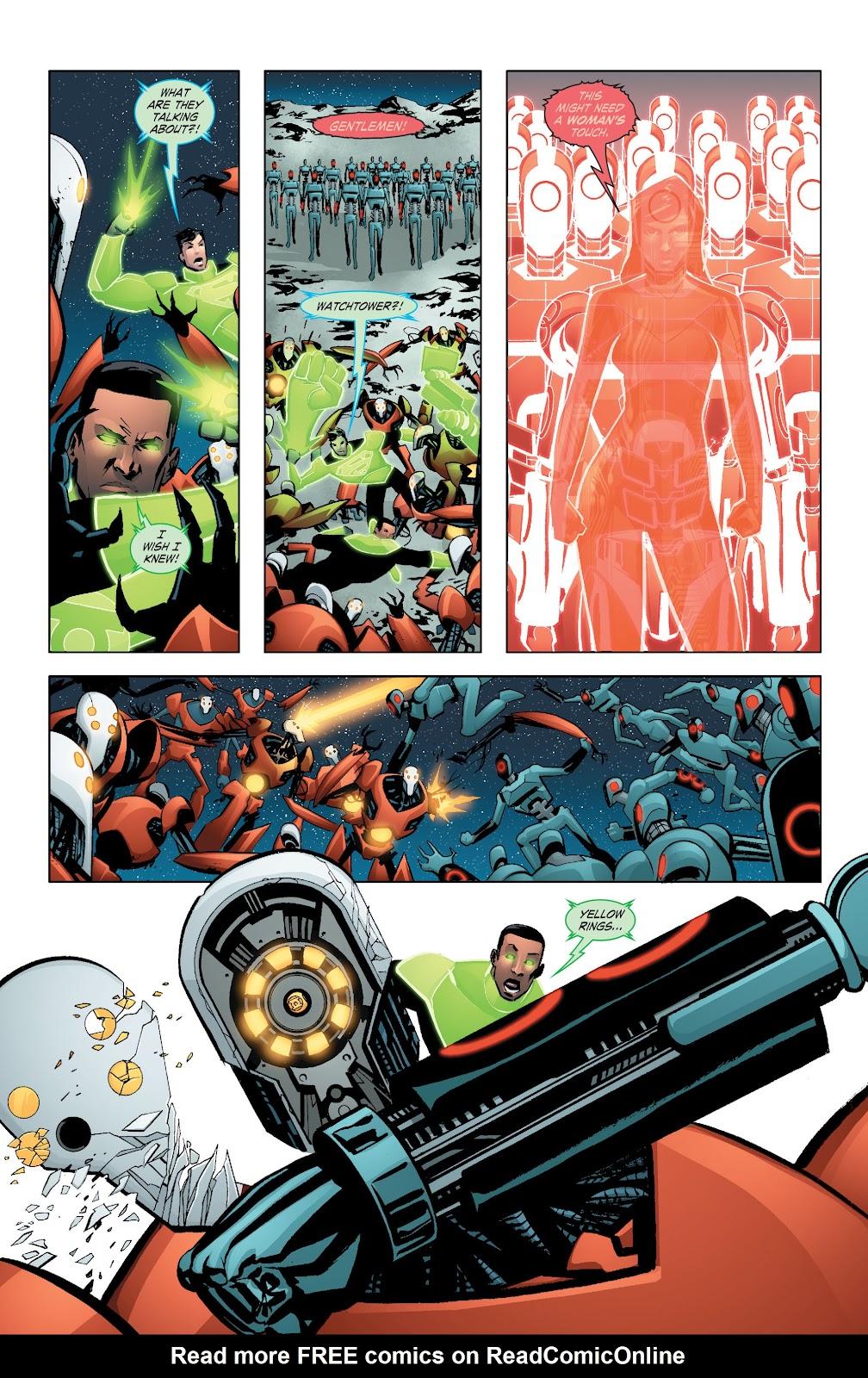 Read online Smallville Season 11 [II] comic -  Issue # TPB 7 - 55