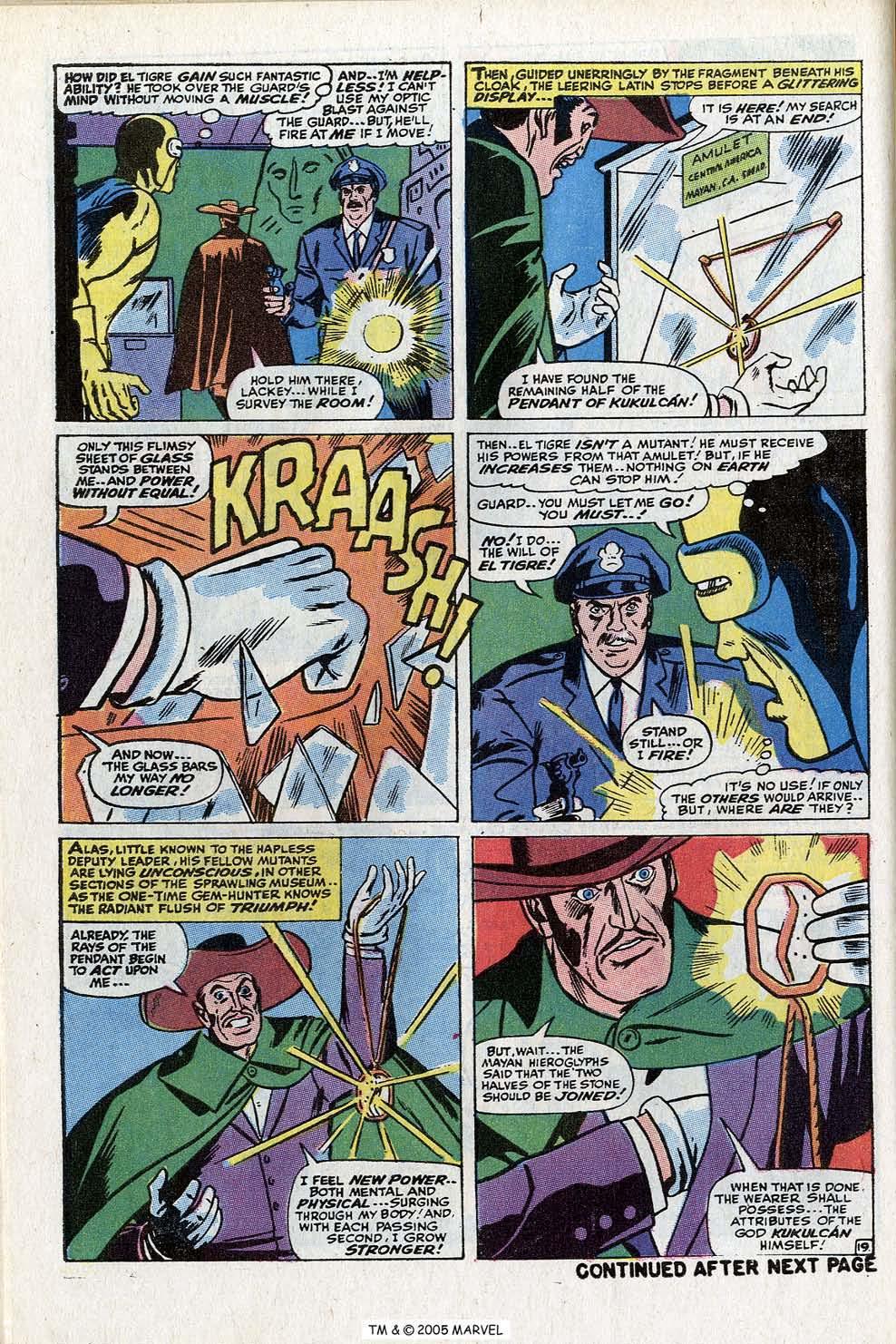 Read online Uncanny X-Men (1963) comic -  Issue #73 - 30