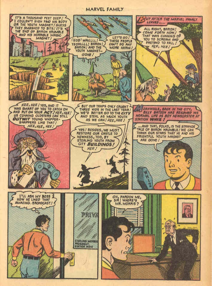 The Marvel Family issue 69 - Page 21