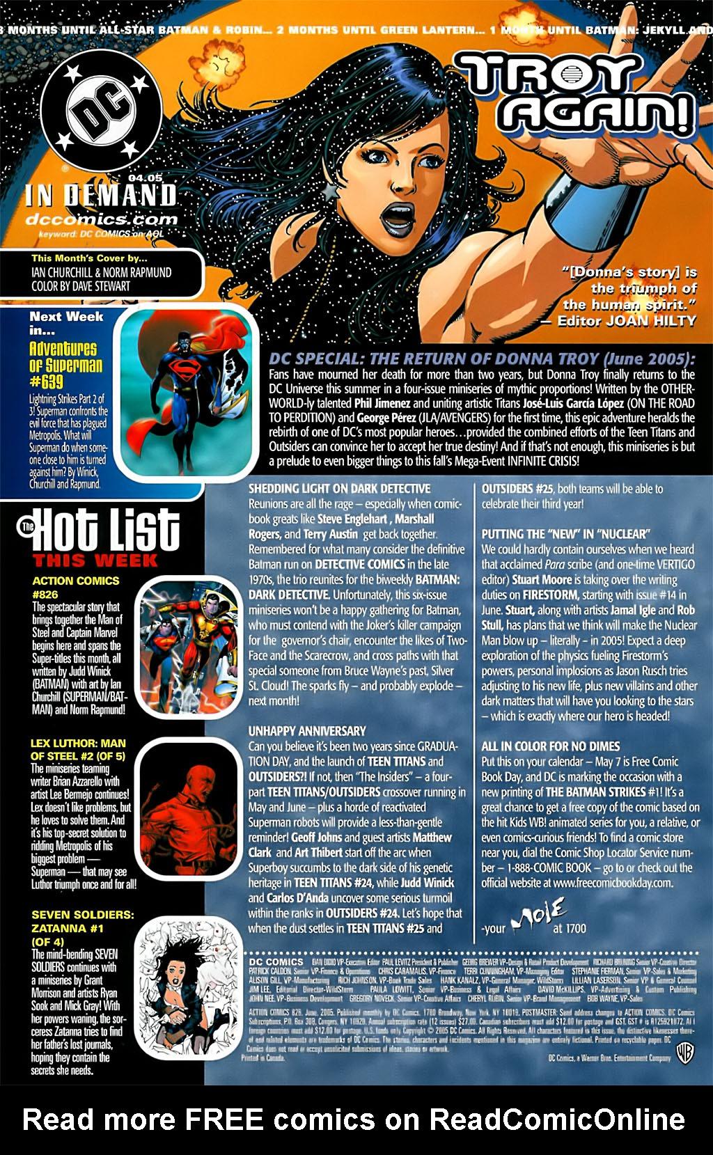 Action Comics (1938) 826 Page 23