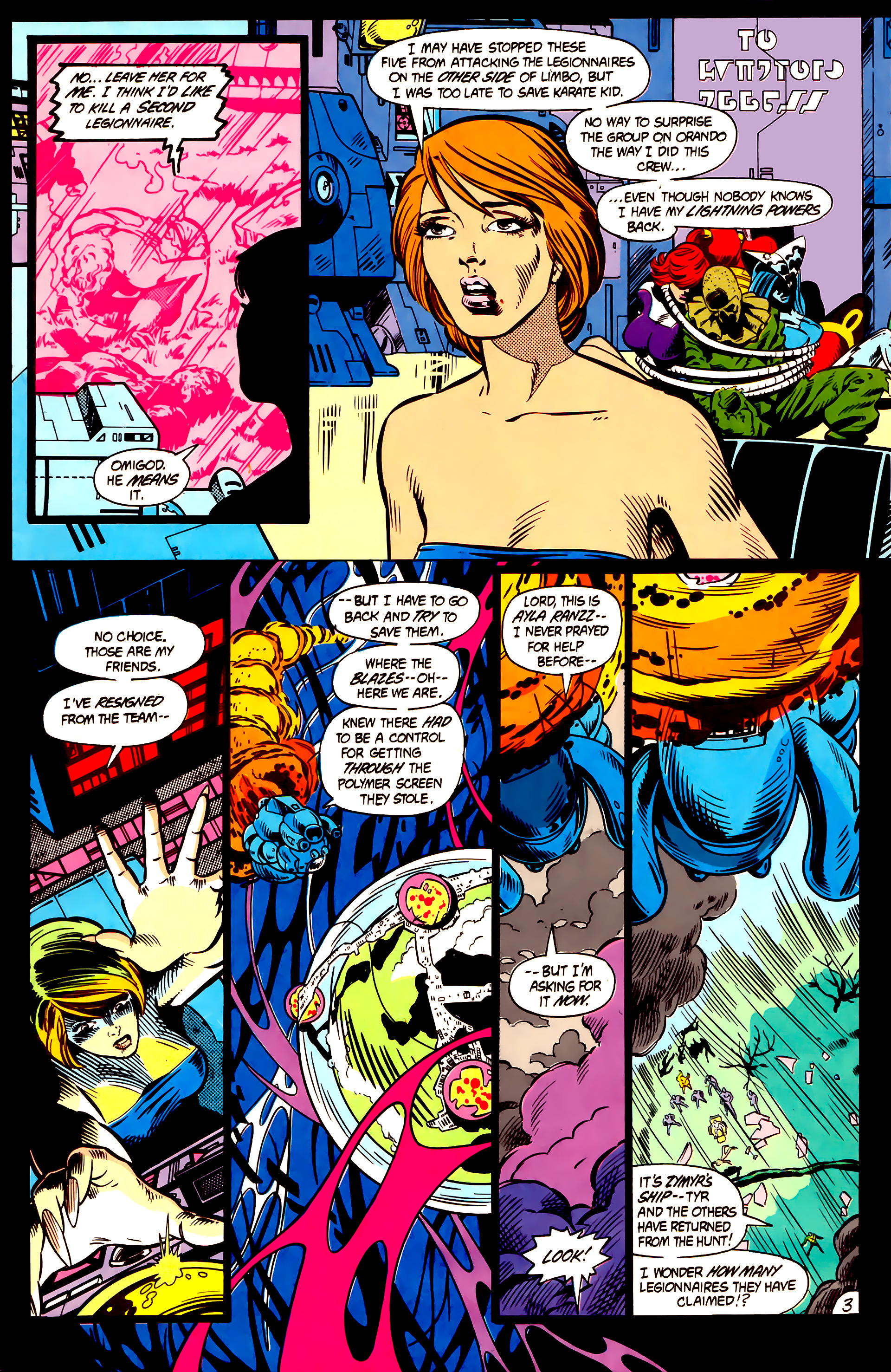 Legion of Super-Heroes (1984) 5 Page 4