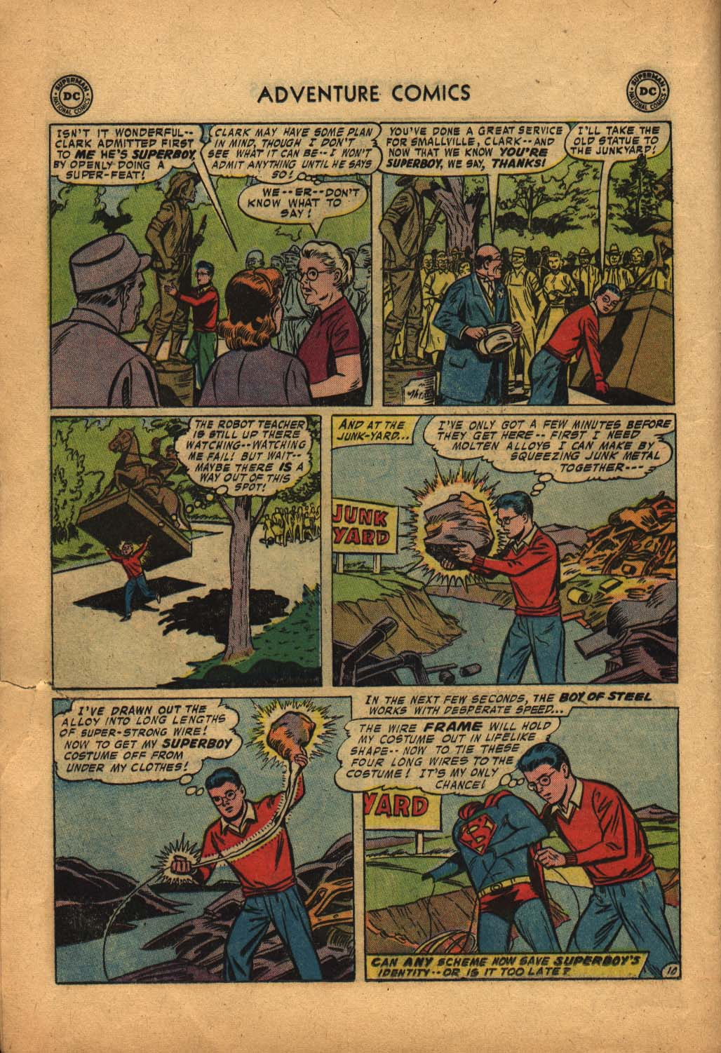 Read online Adventure Comics (1938) comic -  Issue #240 - 12