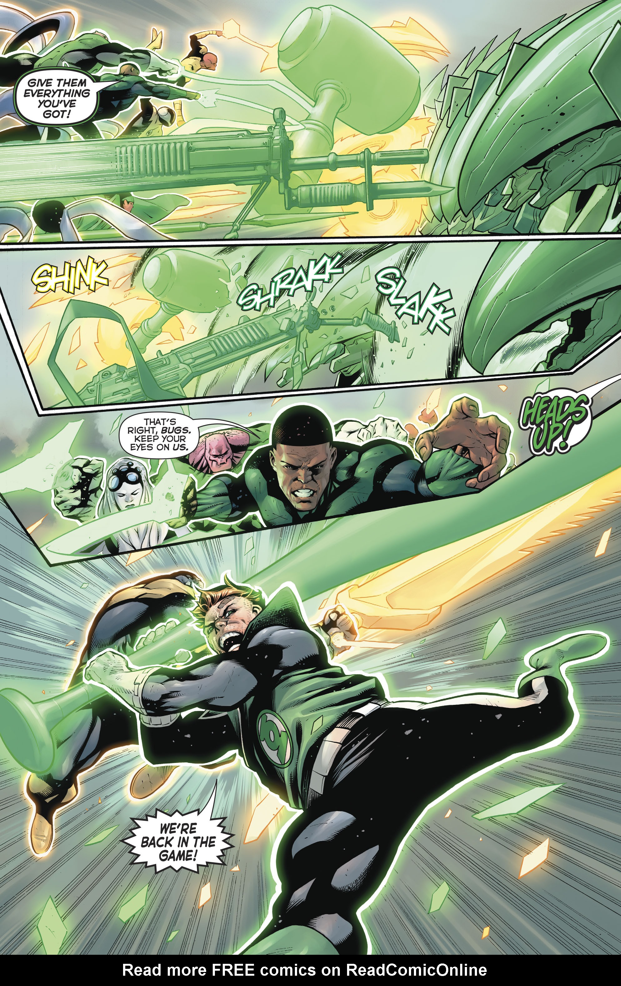 Read online Hal Jordan And The Green Lantern Corps comic -  Issue #20 - 18