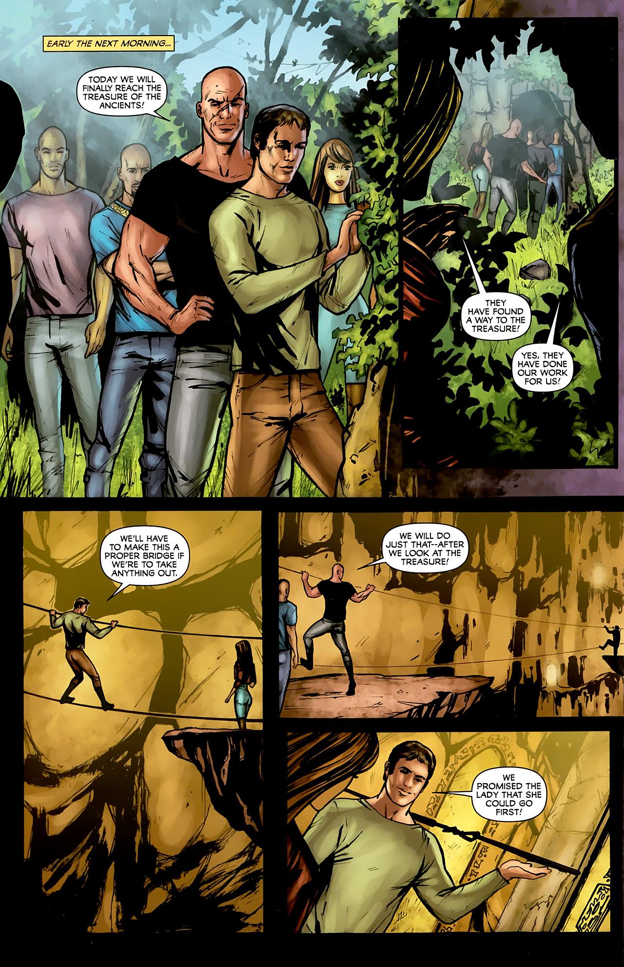 Read online Stargate: Daniel Jackson comic -  Issue #3 - 20