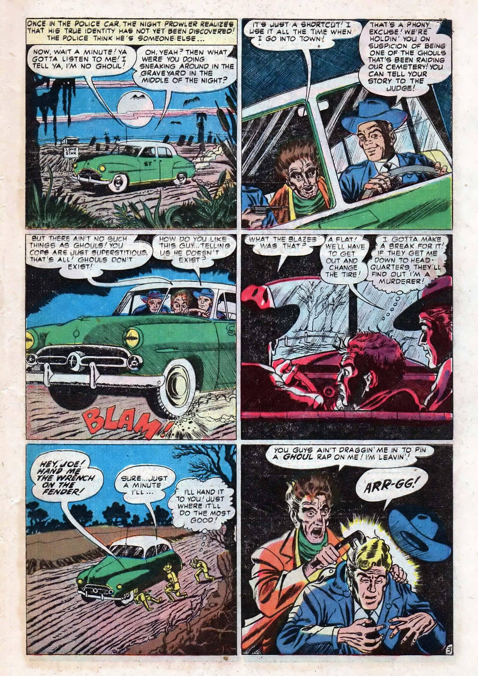 Read online Adventures into Weird Worlds comic -  Issue #10 - 4