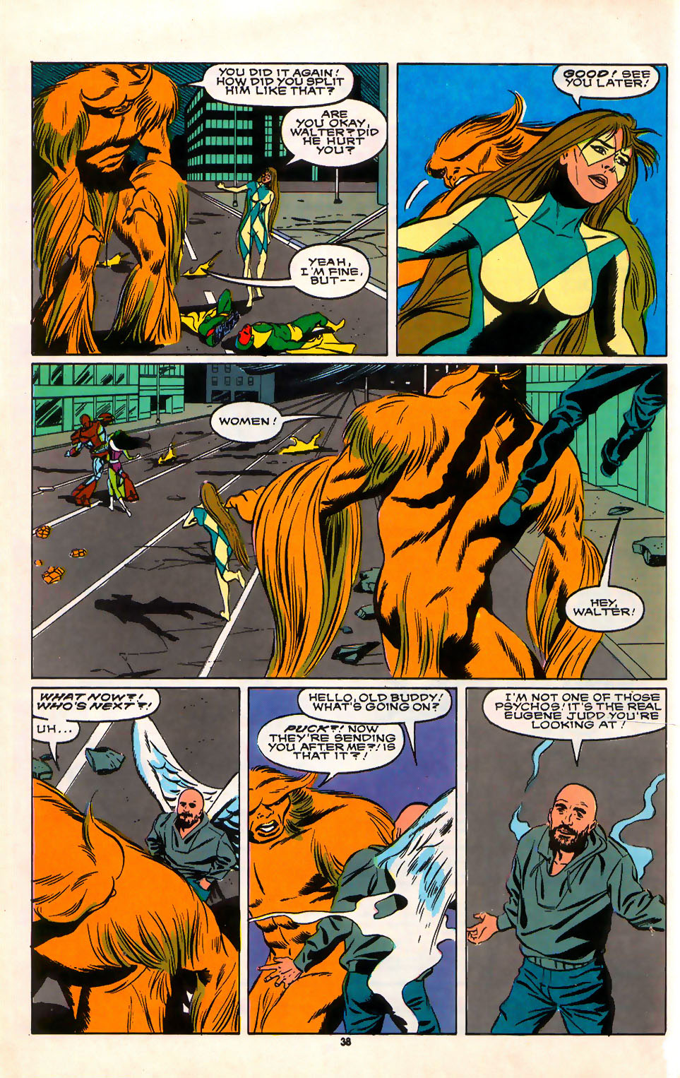 Read online Alpha Flight (1983) comic -  Issue #75 - 34