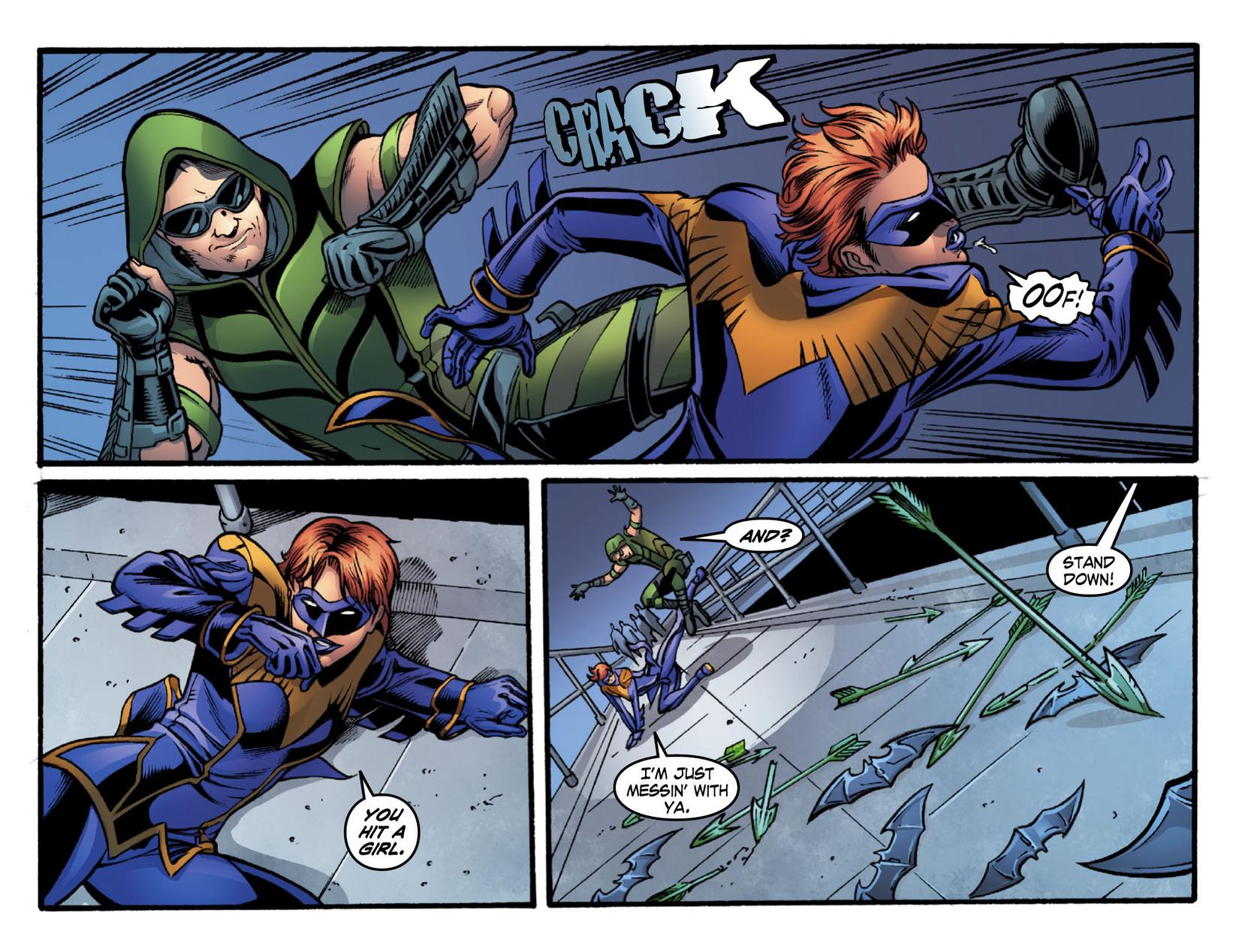 Read online Smallville: Season 11 comic -  Issue #16 - 20