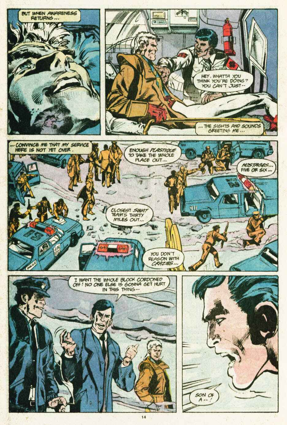 Read online Justice (1986) comic -  Issue #12 - 15