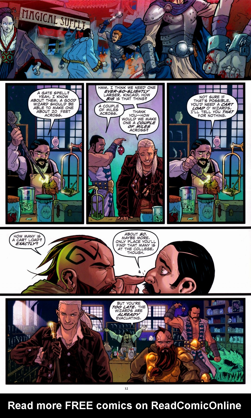 Read online Infestation 2: Dungeons & Dragons comic -  Issue #2 - 14