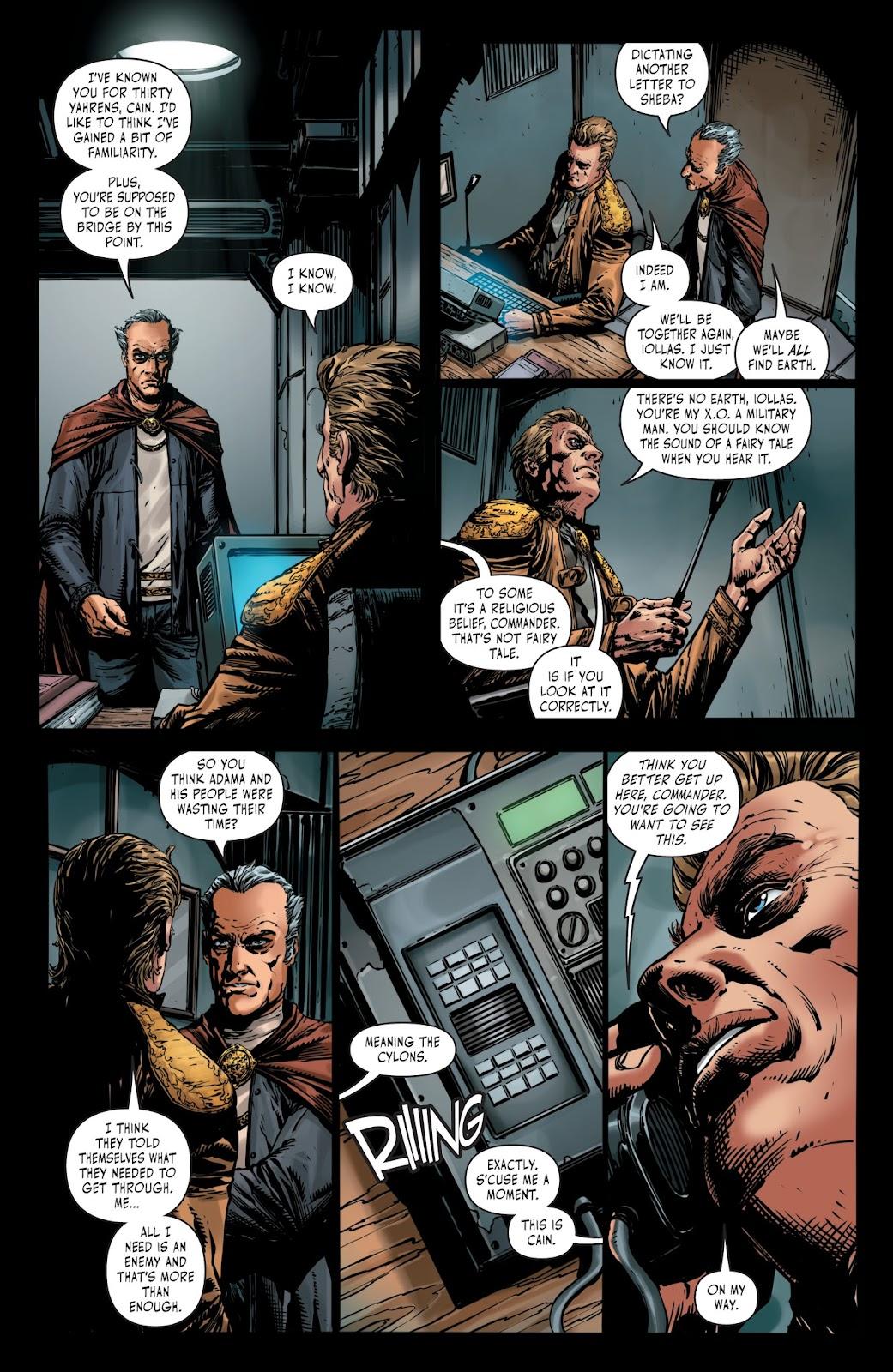 Battlestar Galactica BSG vs. BSG issue 1 - Page 7