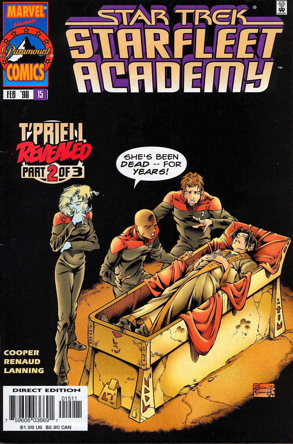 Star Trek: Starfleet Academy (1996) issue 15 - Page 1
