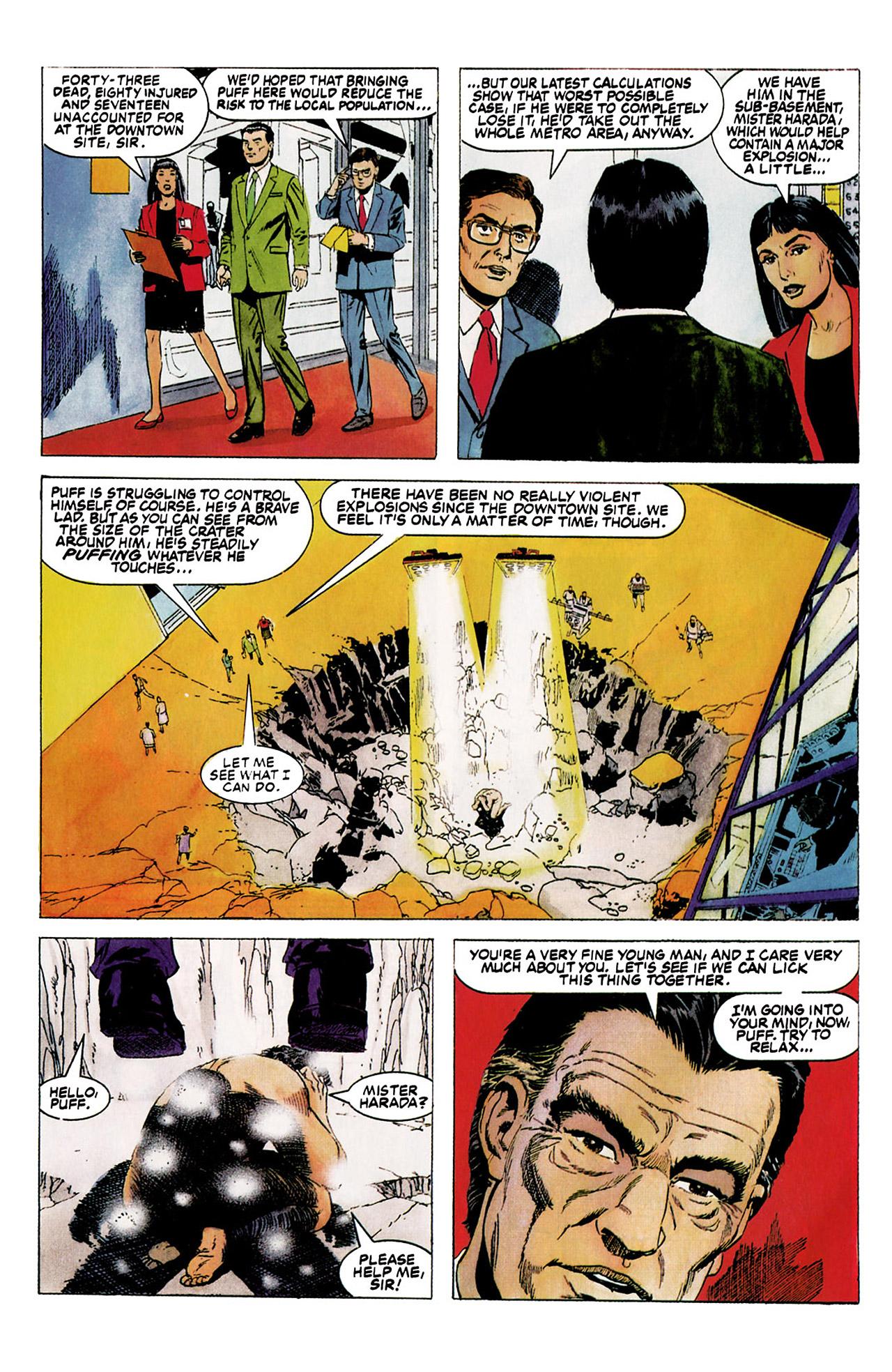 Read online Harbinger (1992) comic -  Issue #5 - 9