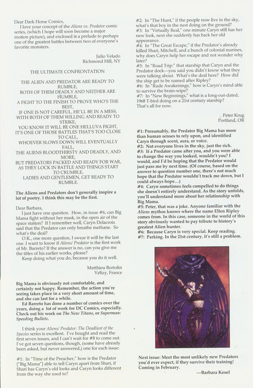Read online Aliens/Predator: The Deadliest of the Species comic -  Issue #9 - 28