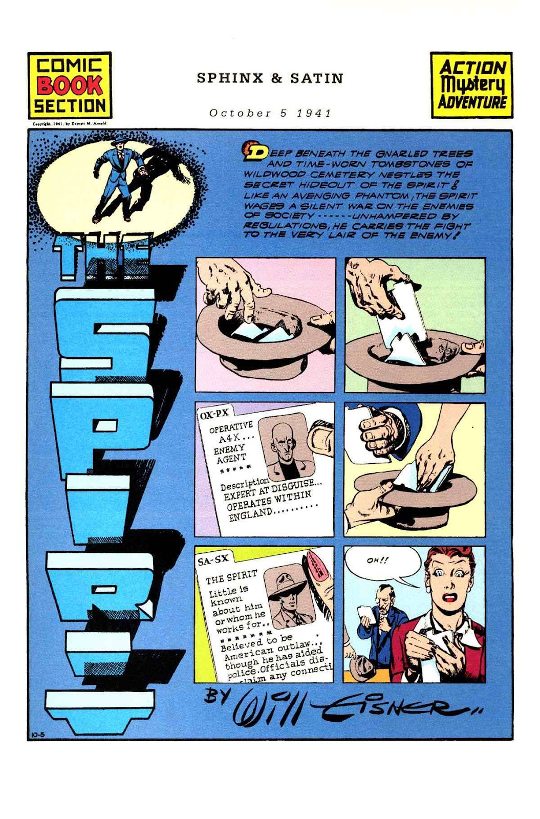 Read online Will Eisner's The Spirit Archives comic -  Issue # TPB 3 (Part 2) - 6