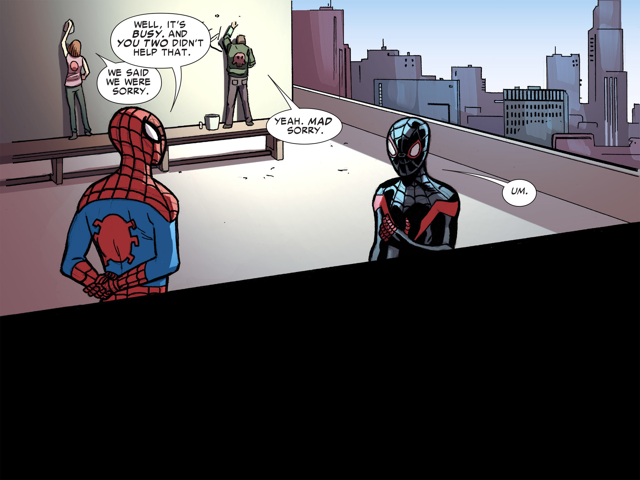 Read online Ultimate Spider-Man (Infinite Comics) (2016) comic -  Issue #8 - 57