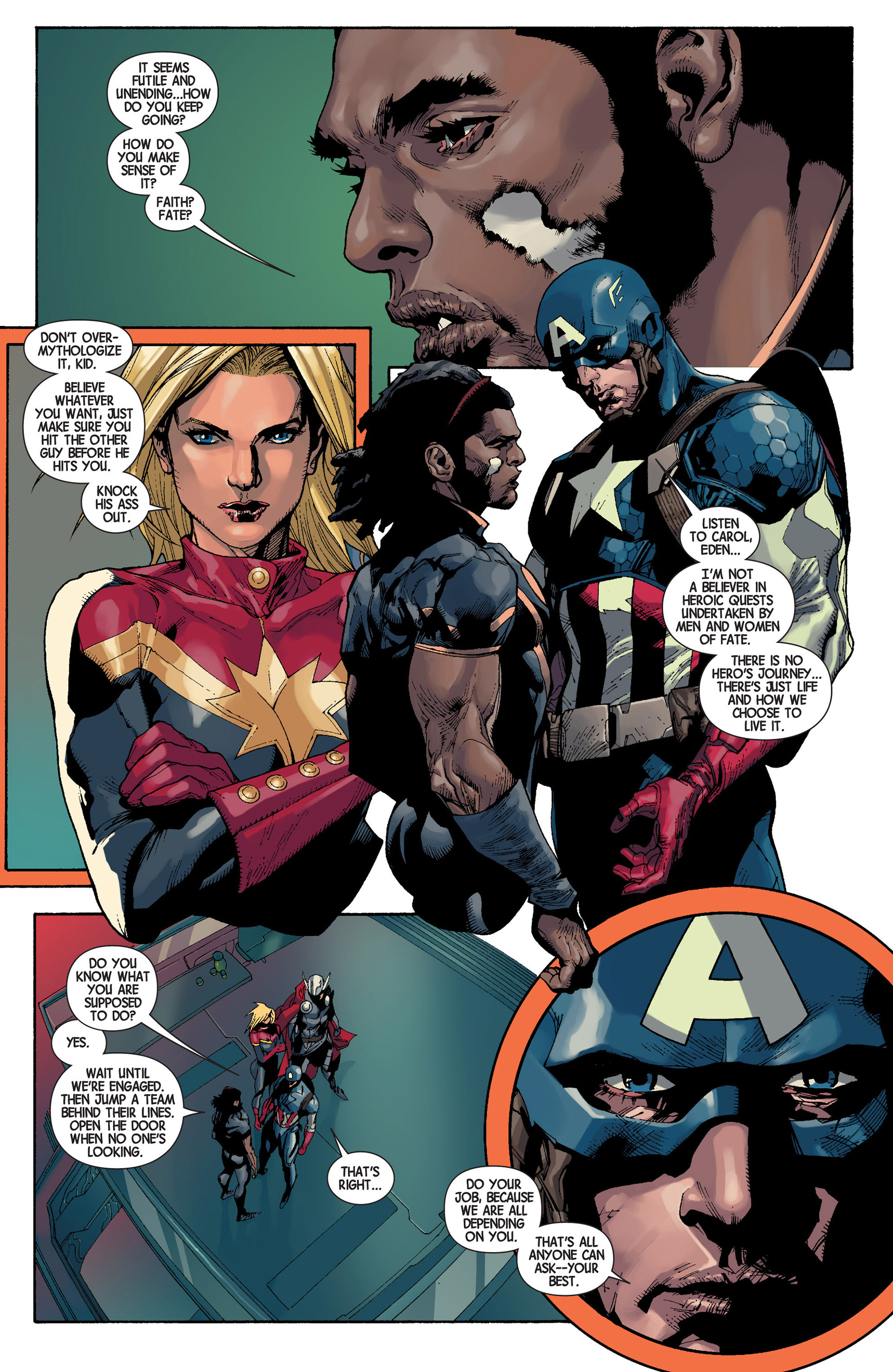Read online Avengers (2013) comic -  Issue #22 - 22