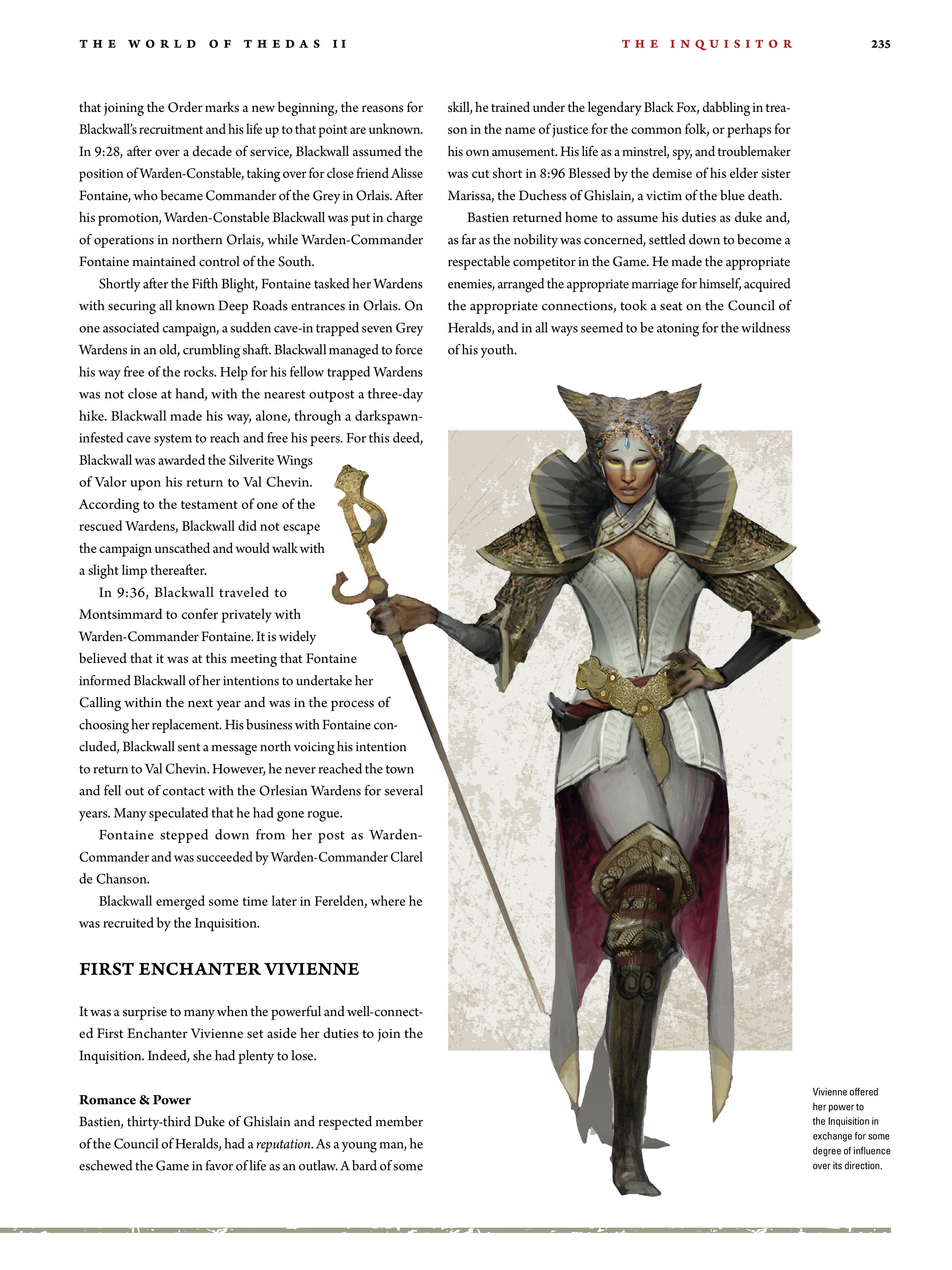 Read online Dragon Age: The World of Thedas comic -  Issue # TPB 2 - 230