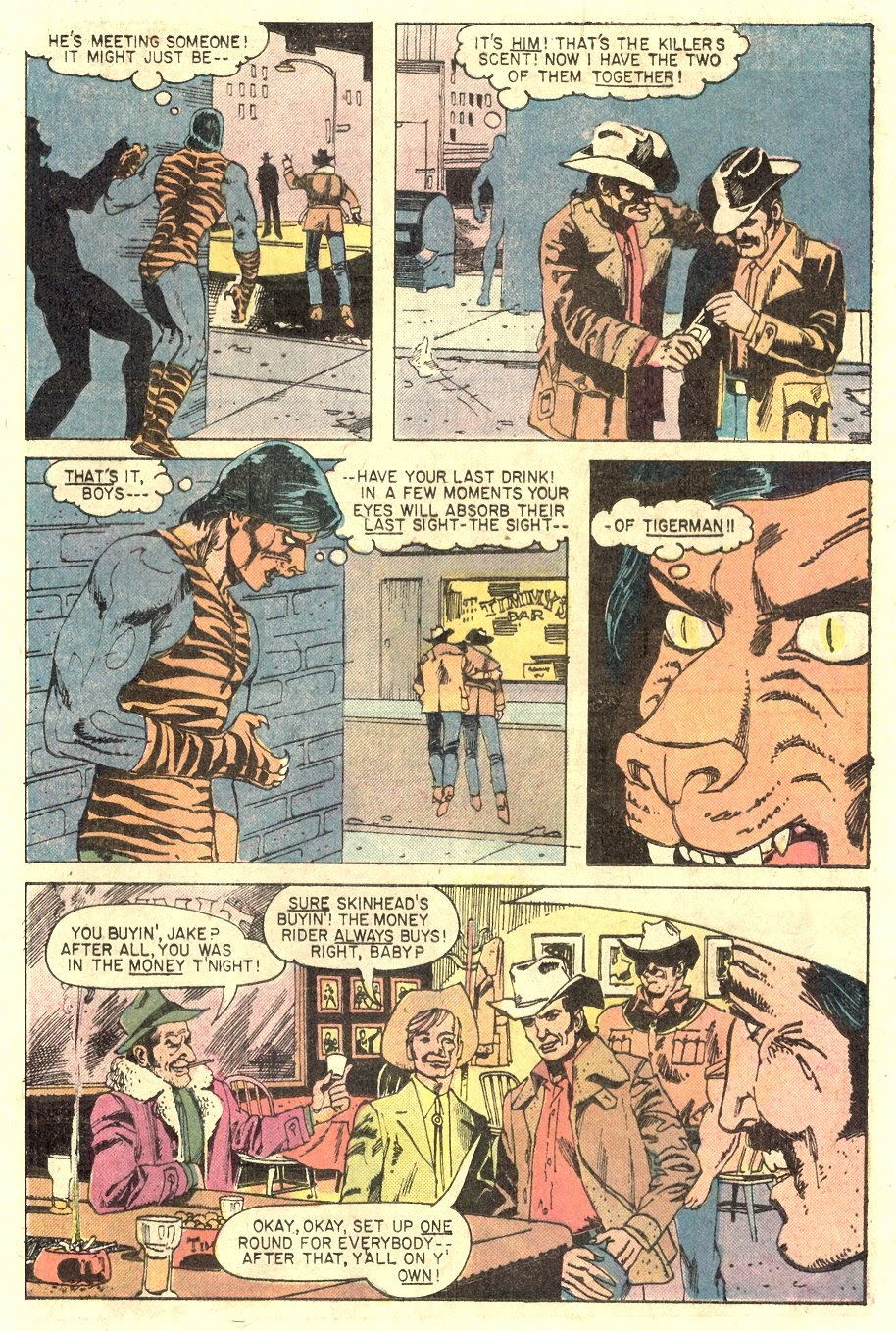 Read online Tiger-Man comic -  Issue #1 - 25