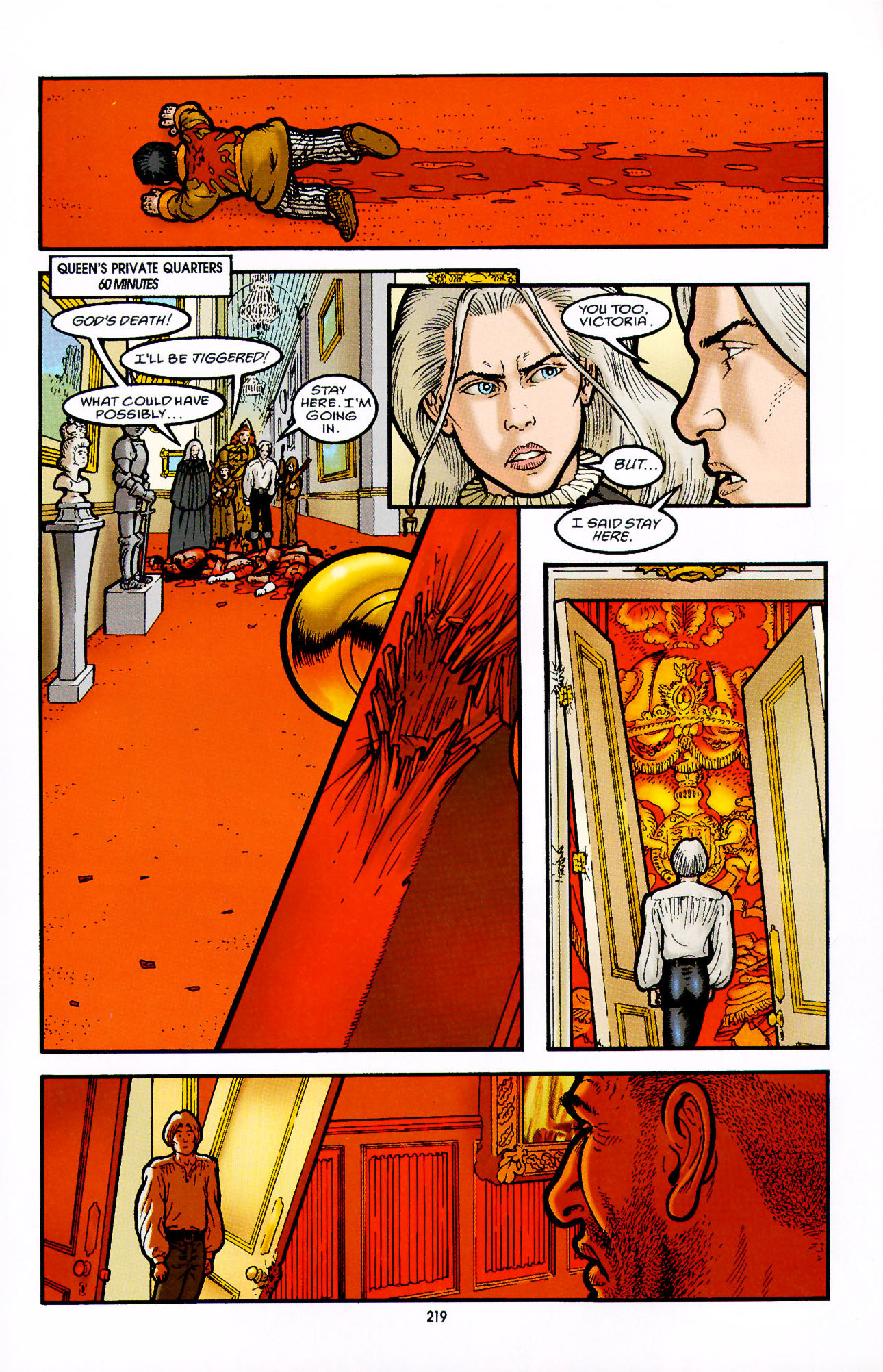 Read online Heart of Empire comic -  Issue #7 - 25
