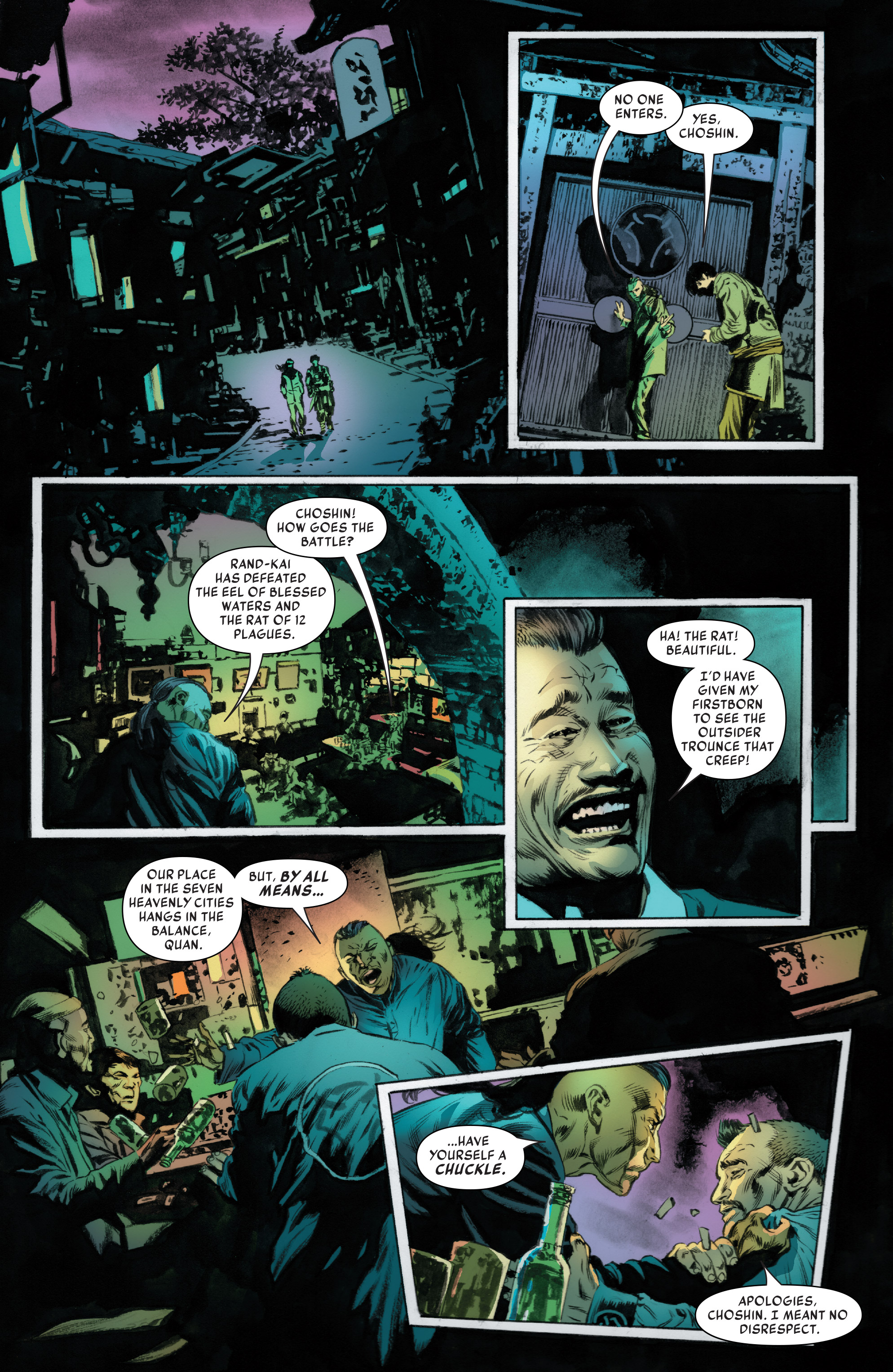 Read online Iron Fist (2017) comic -  Issue #3 - 13