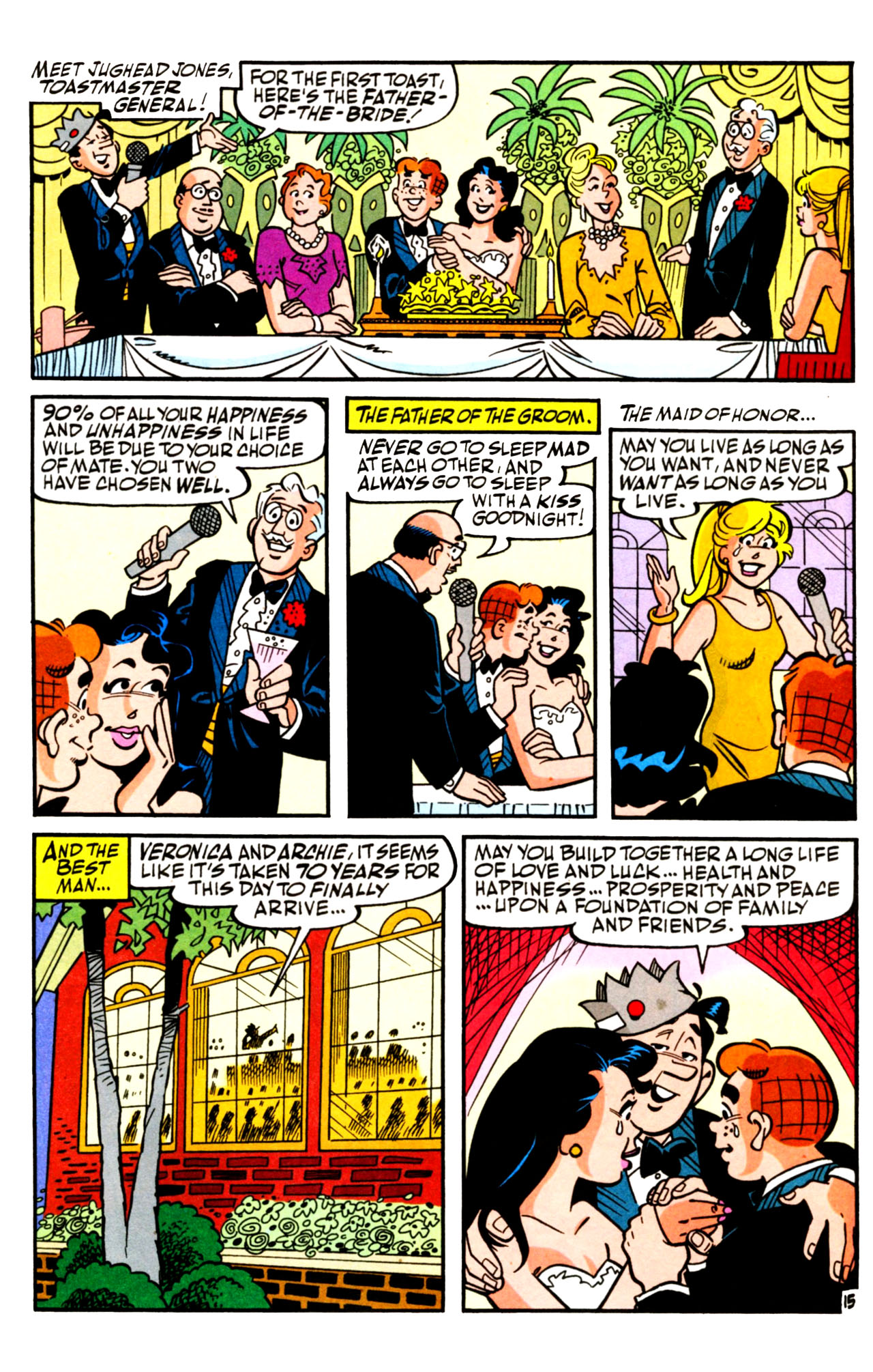 Read online Archie (1960) comic -  Issue #601 - 22