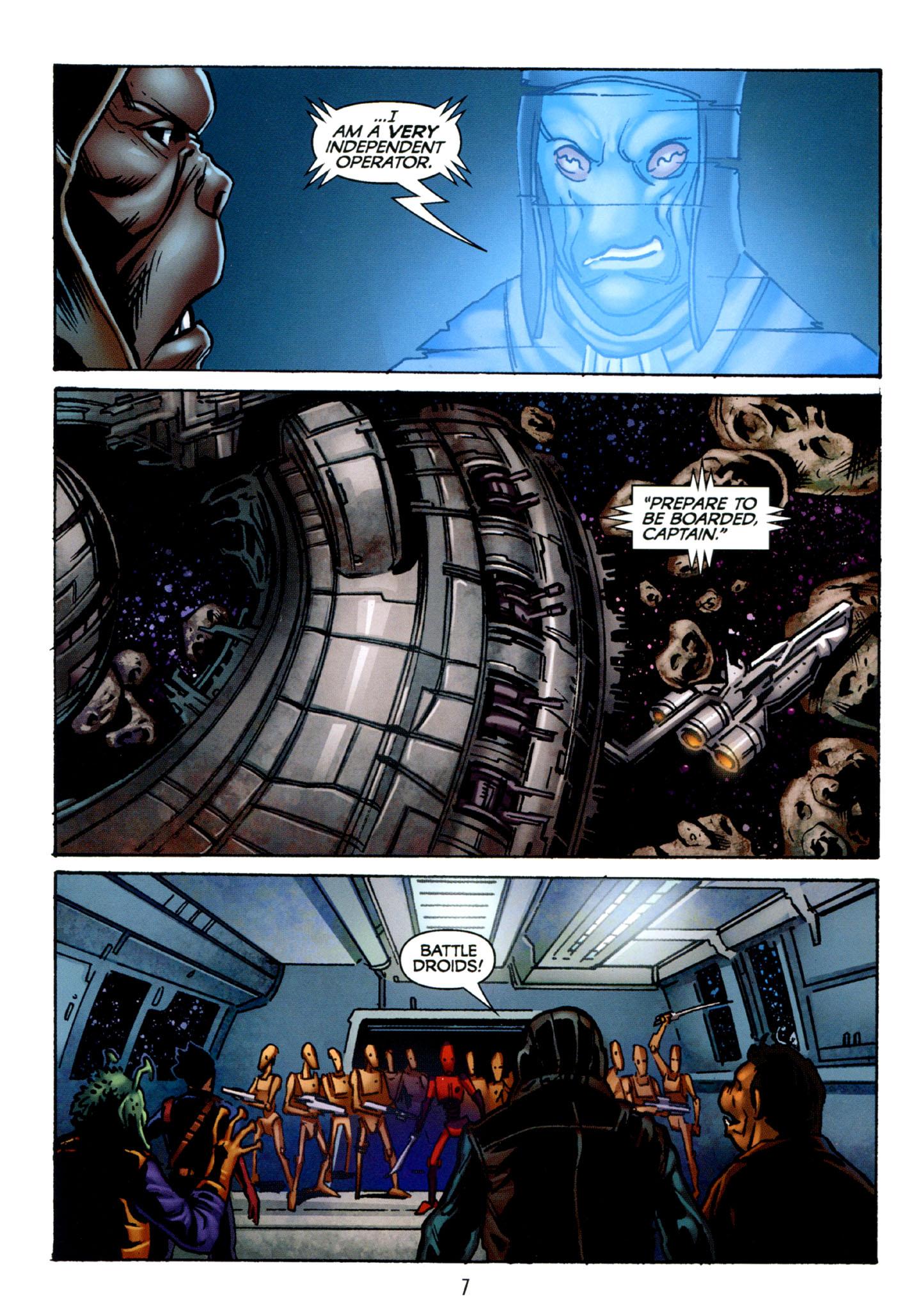 Read online Star Wars: The Clone Wars - Strange Allies comic -  Issue # Full - 8