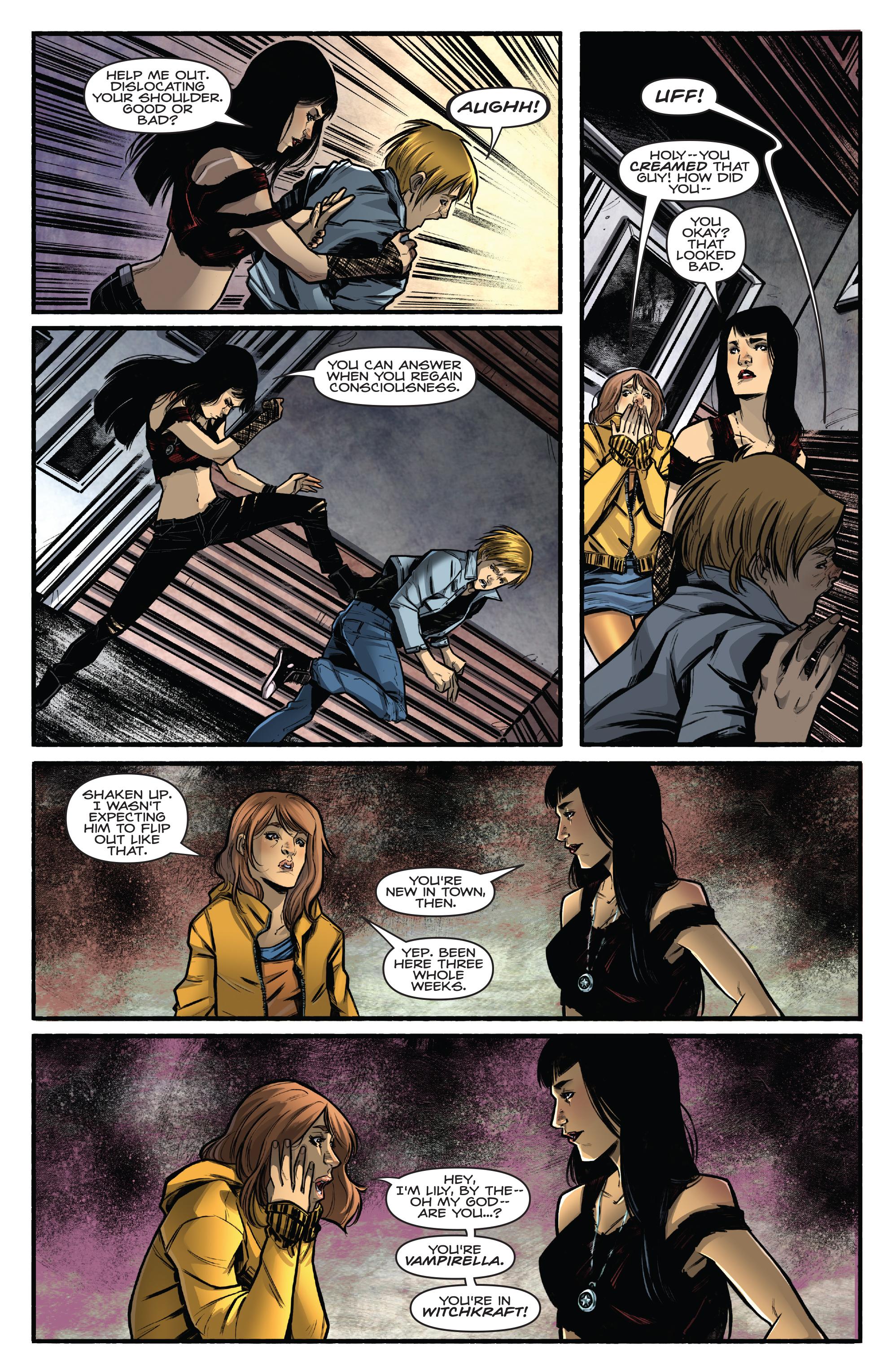 Read online Kiss/Vampirella comic -  Issue #1 - 9