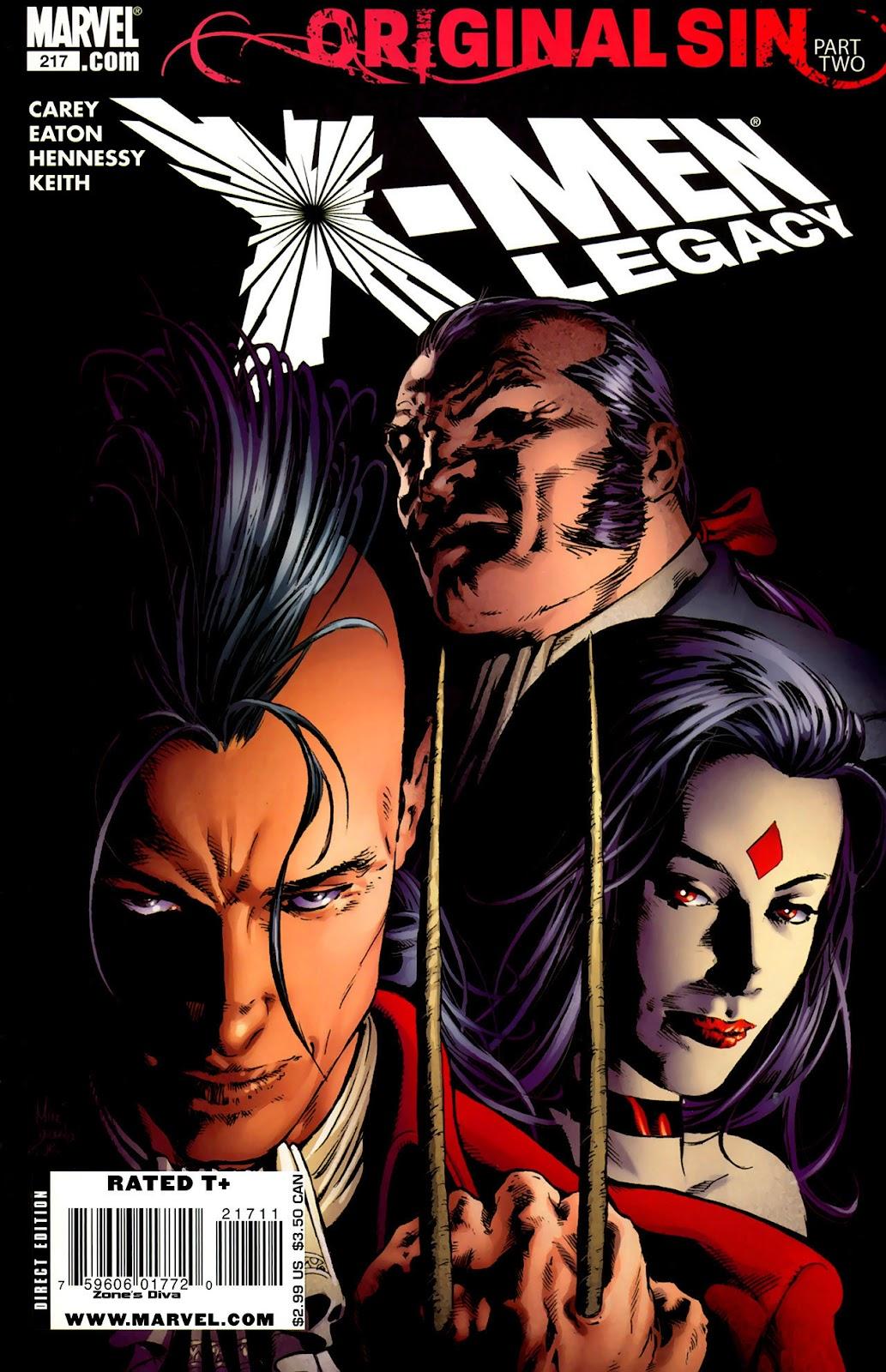 X-Men Legacy (2008) 217 Page 1