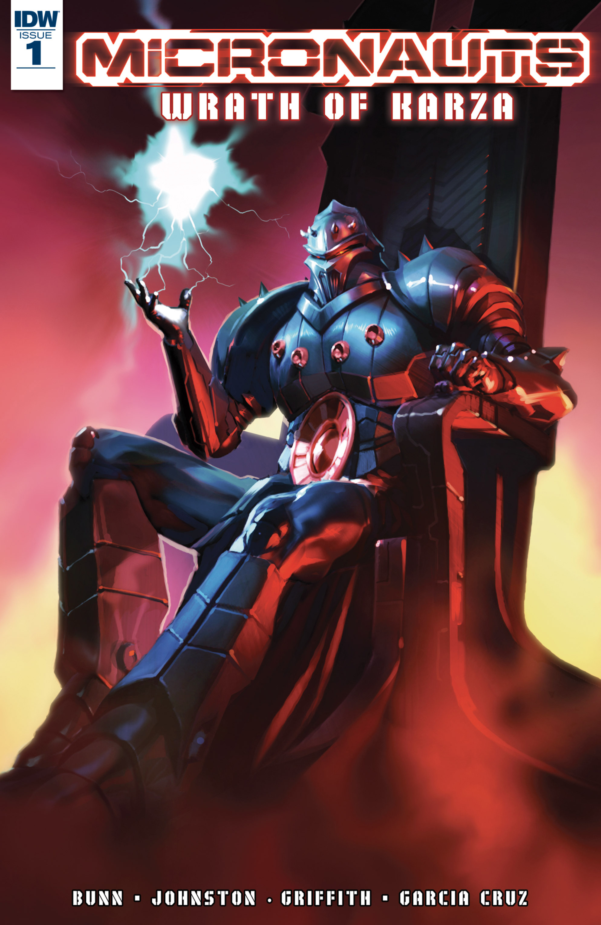 Read online Micronauts: Wrath of Karza comic -  Issue #1 - 1