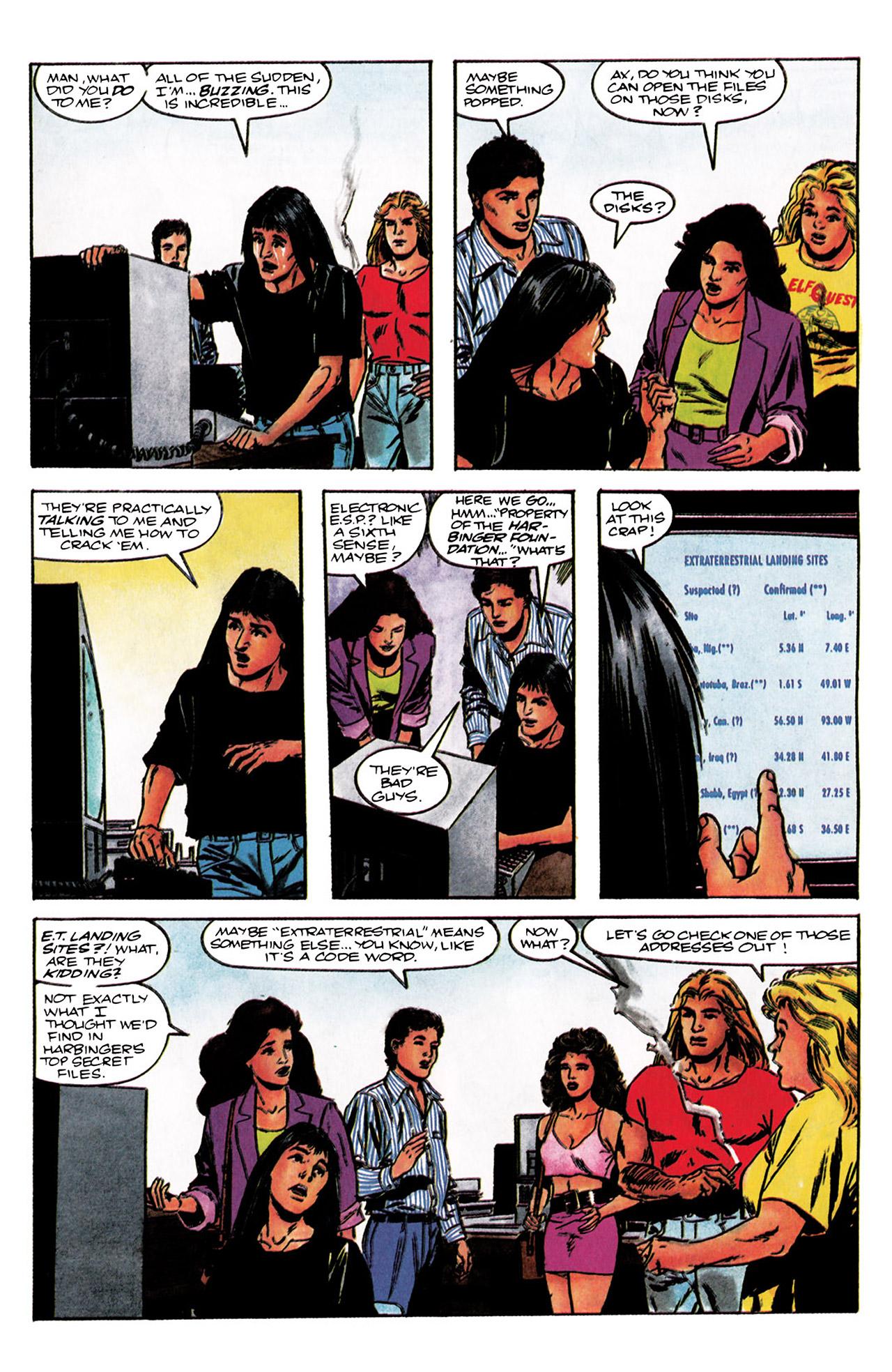 Read online Harbinger (1992) comic -  Issue #3 - 8