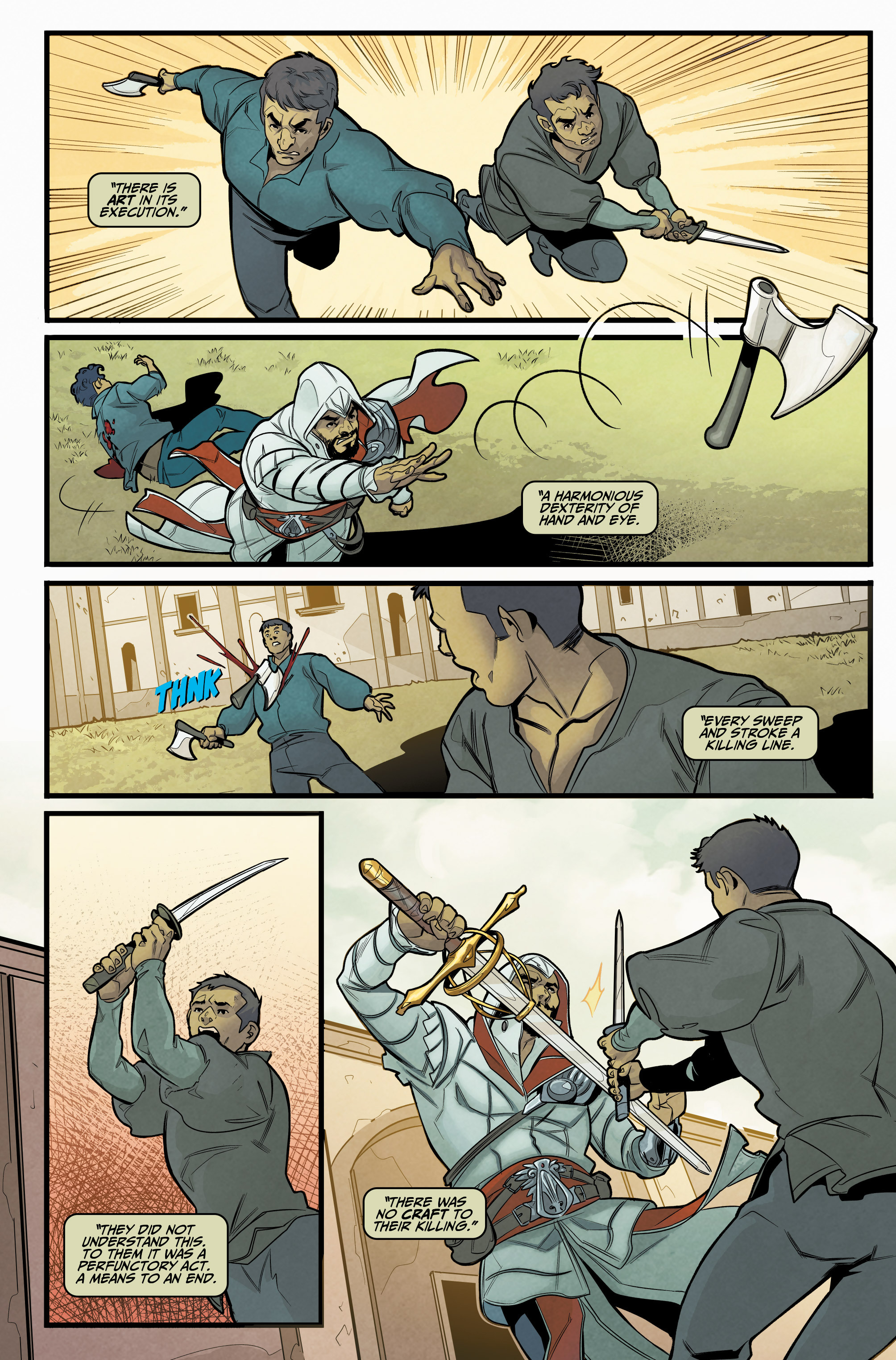 Read online Assassin's Creed: Reflections comic -  Issue #1 - 19