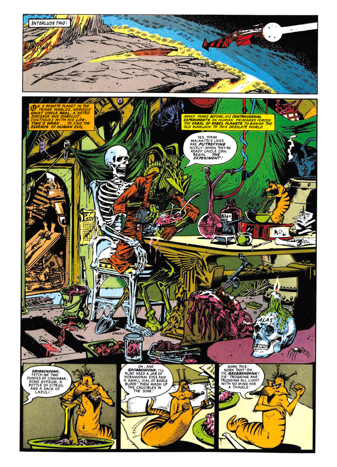 Read online Nemesis The Warlock comic -  Issue # TPB Deviant Edition - 47