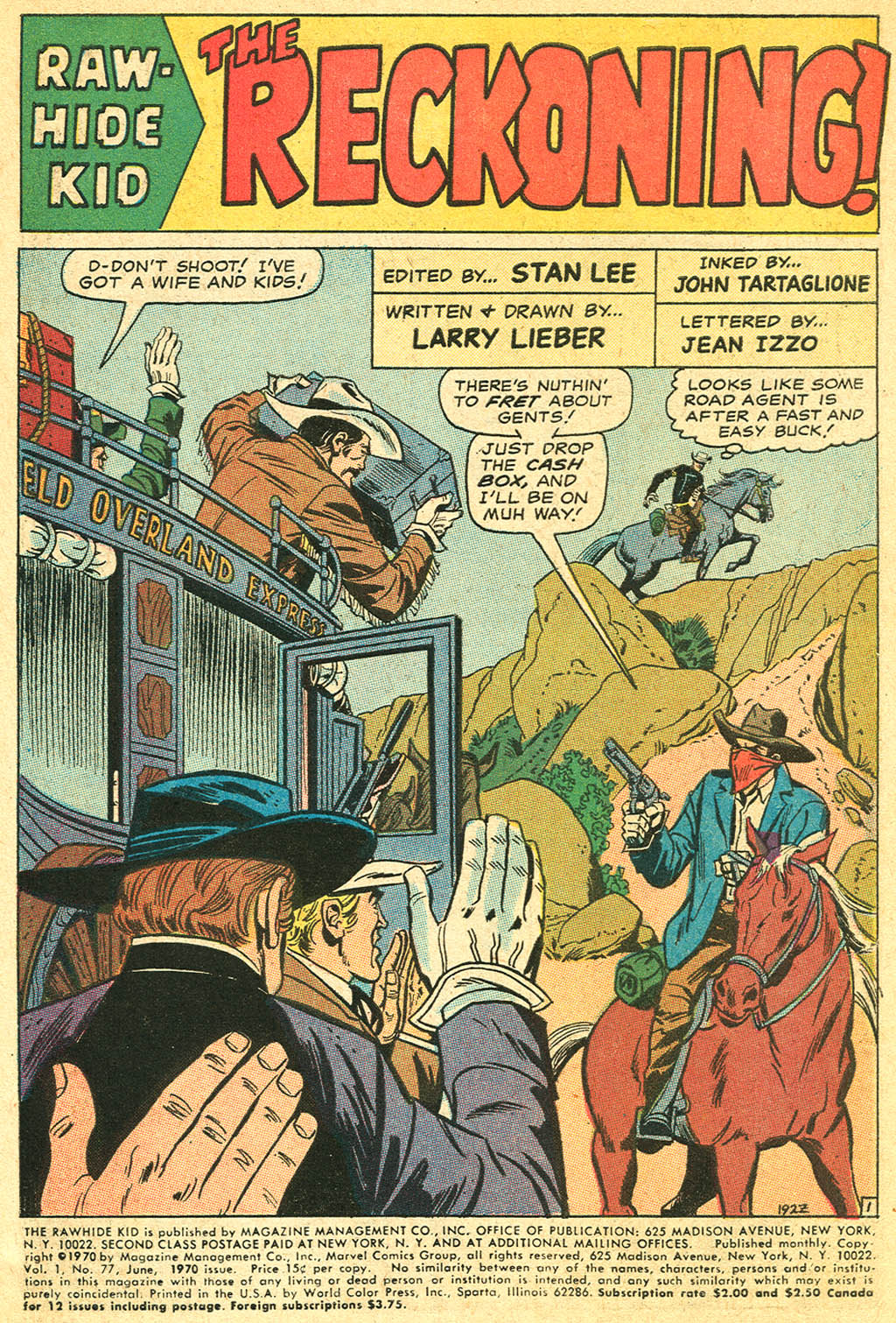 The Rawhide Kid (1955) 77 Page 2