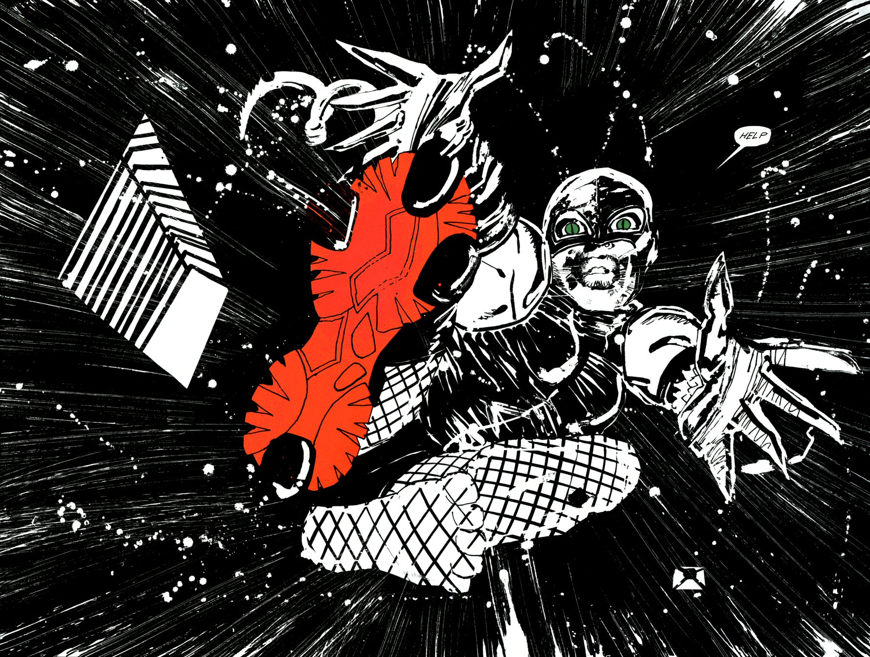 Read online Frank Miller's Holy Terror comic -  Issue # TPB - 52