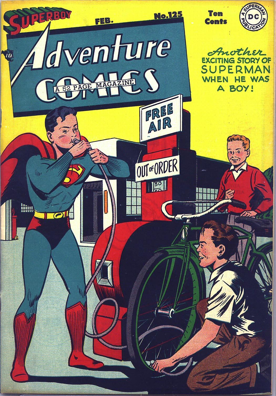 Read online Adventure Comics (1938) comic -  Issue #125 - 1