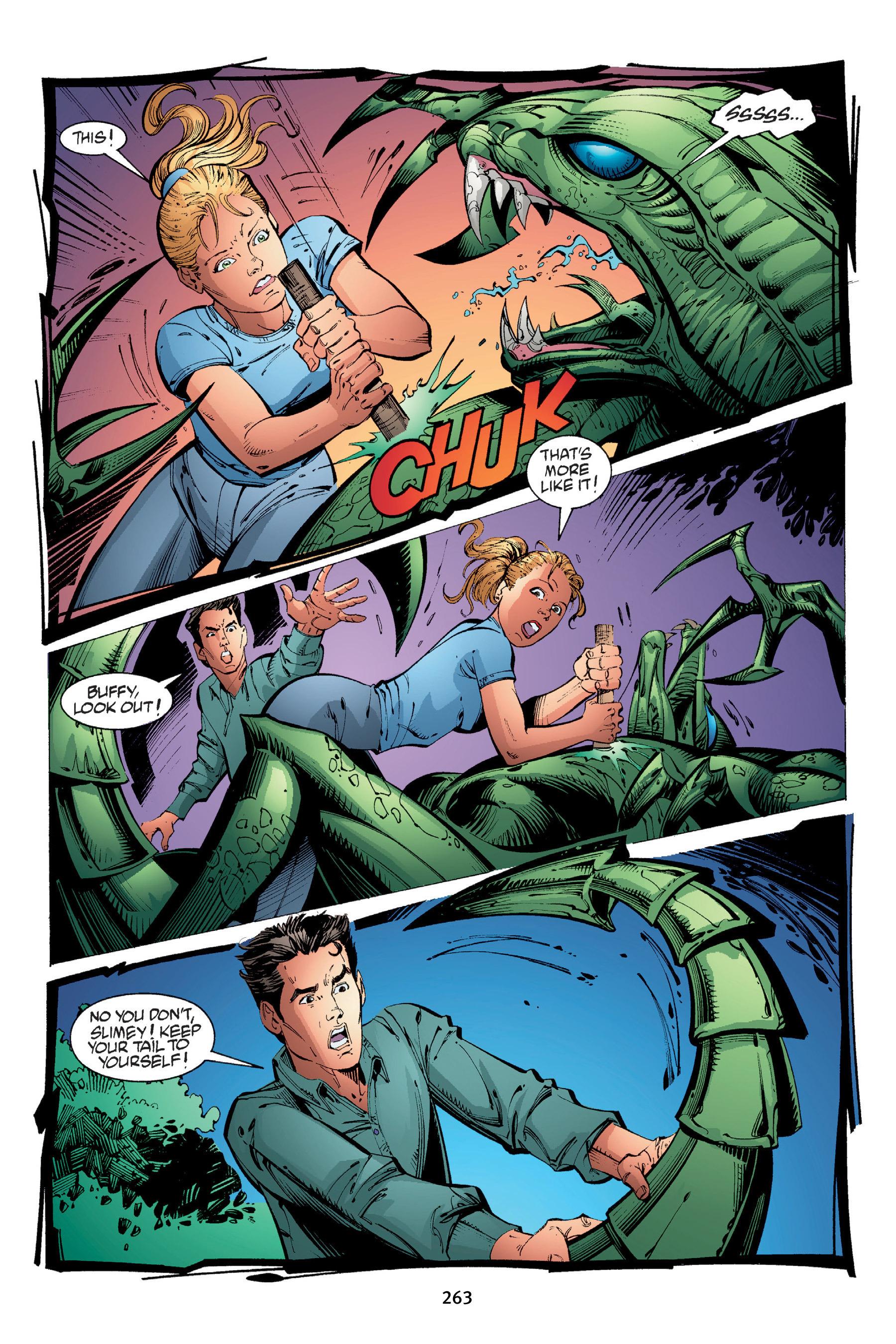 Read online Buffy the Vampire Slayer: Omnibus comic -  Issue # TPB 4 - 261